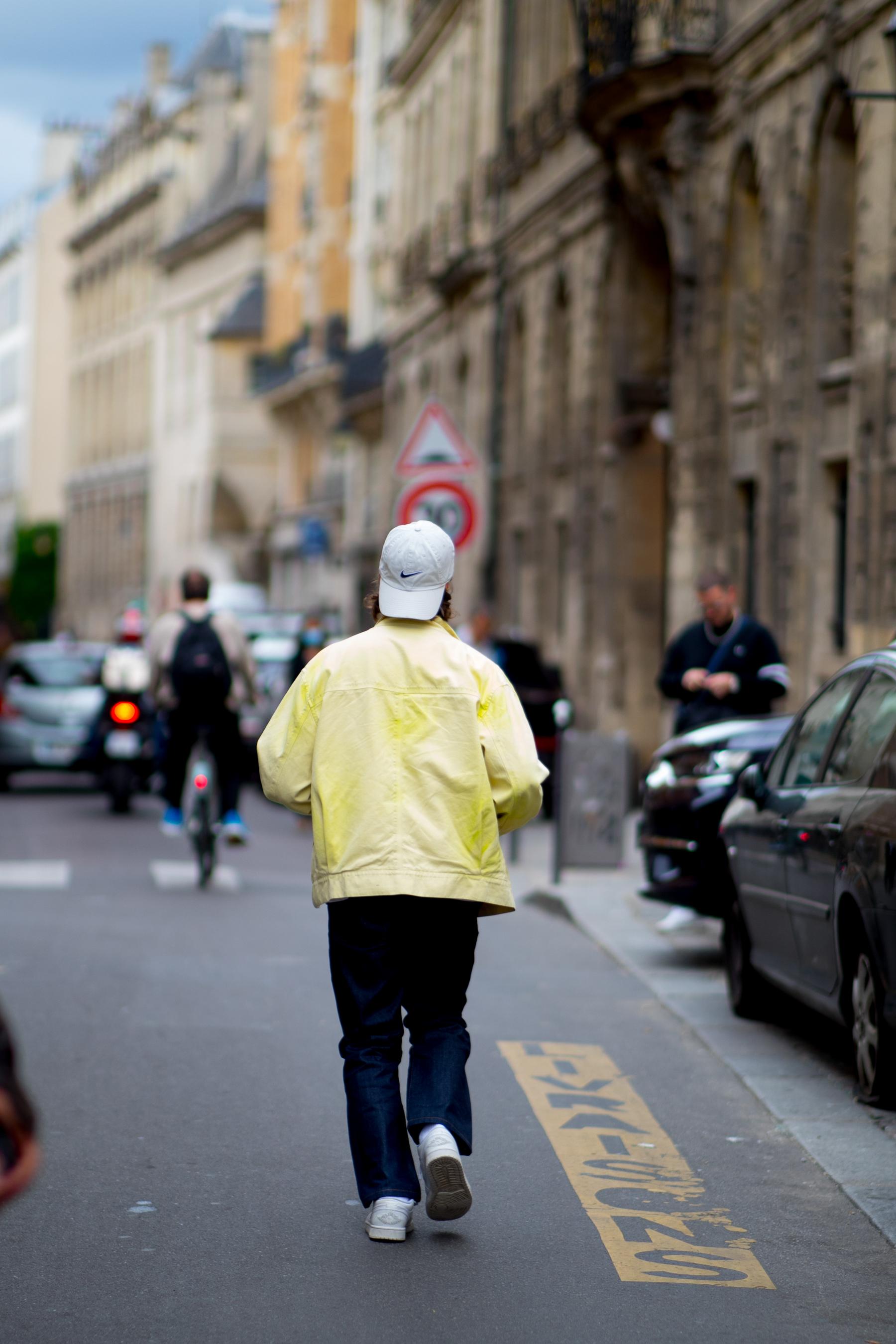 Paris Men's Street Style Spring 2022 Day 4