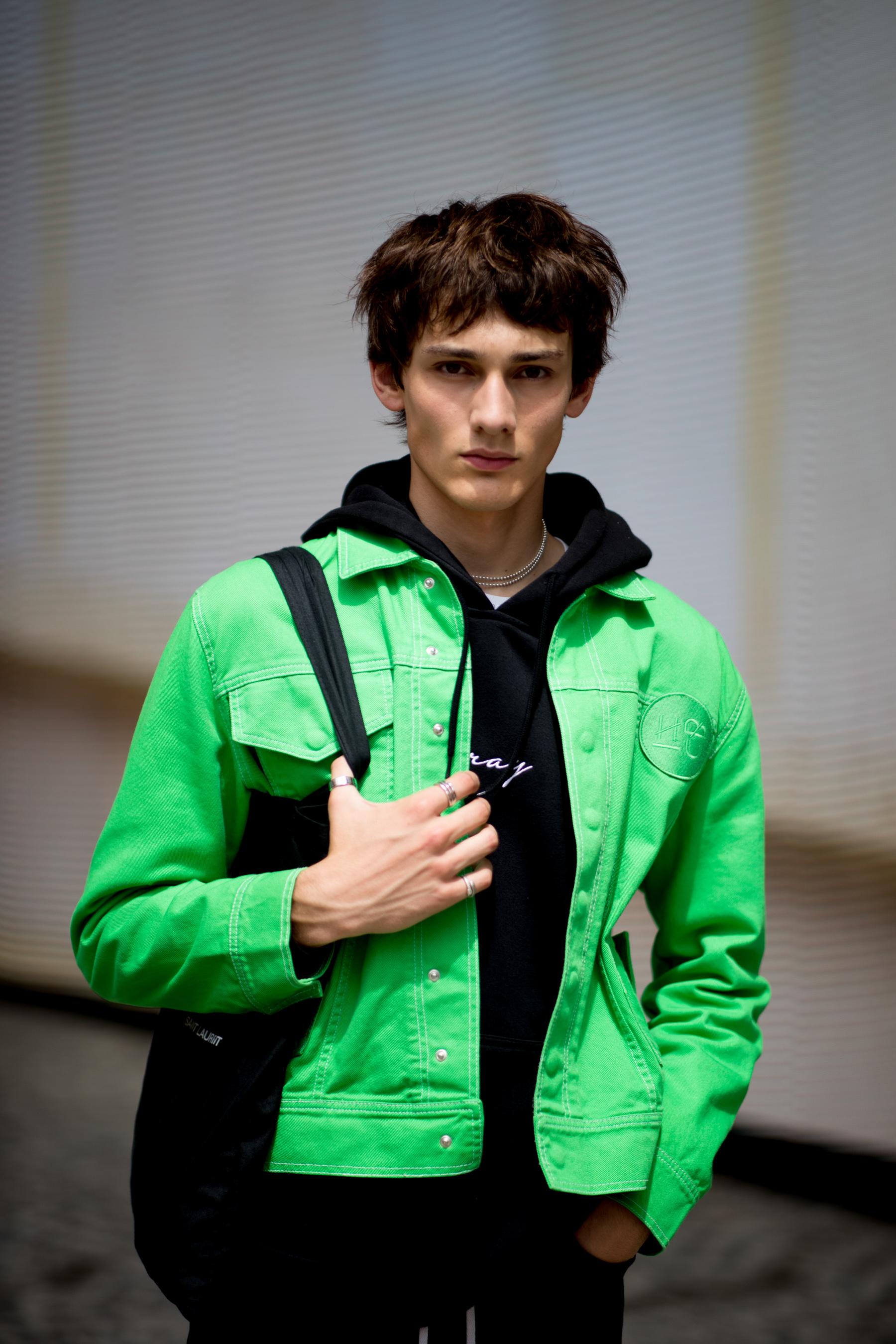 Paris Men's Street Style Spring 2022 Day 5