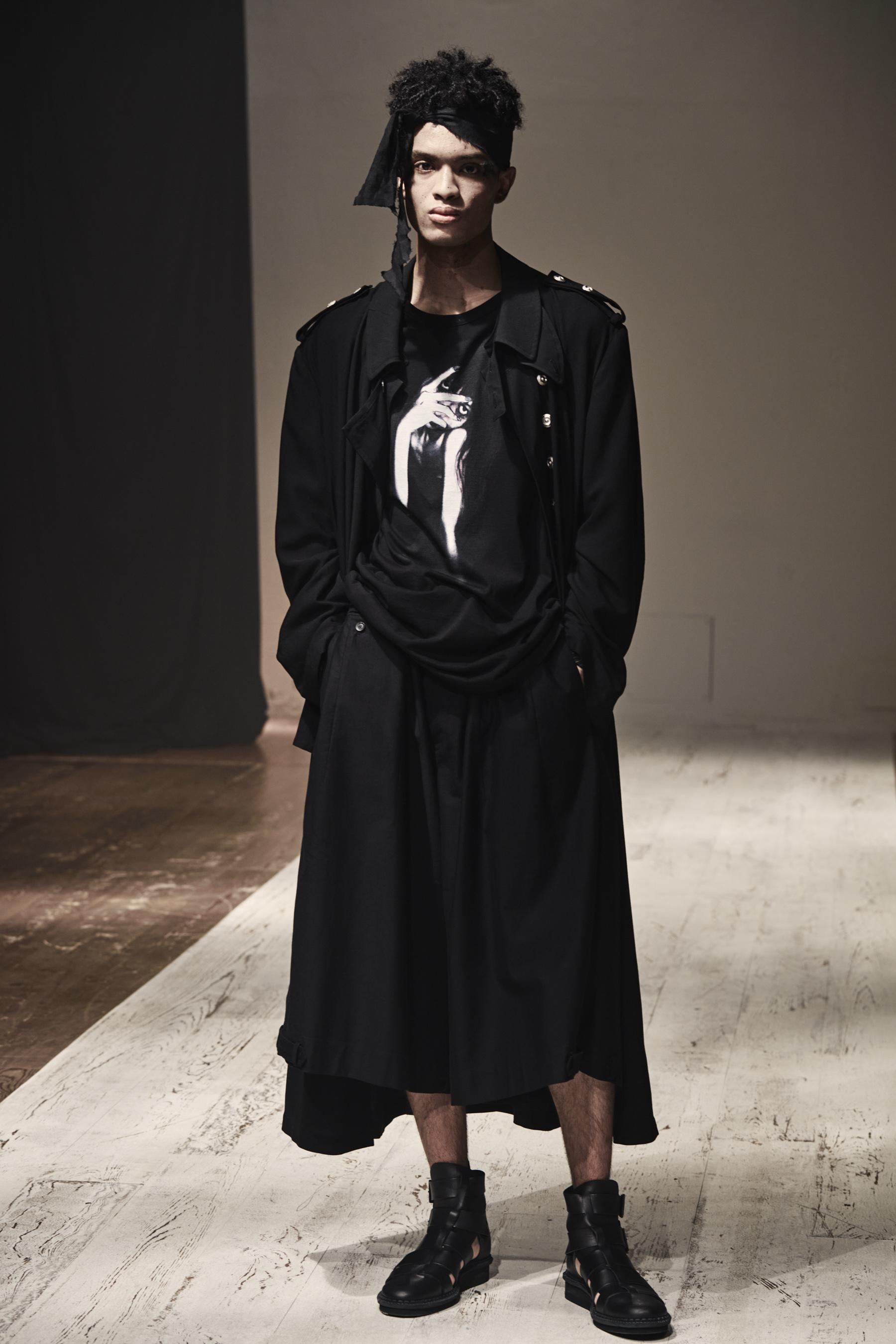 Yohji Yamamoto Spring 2022 Men's