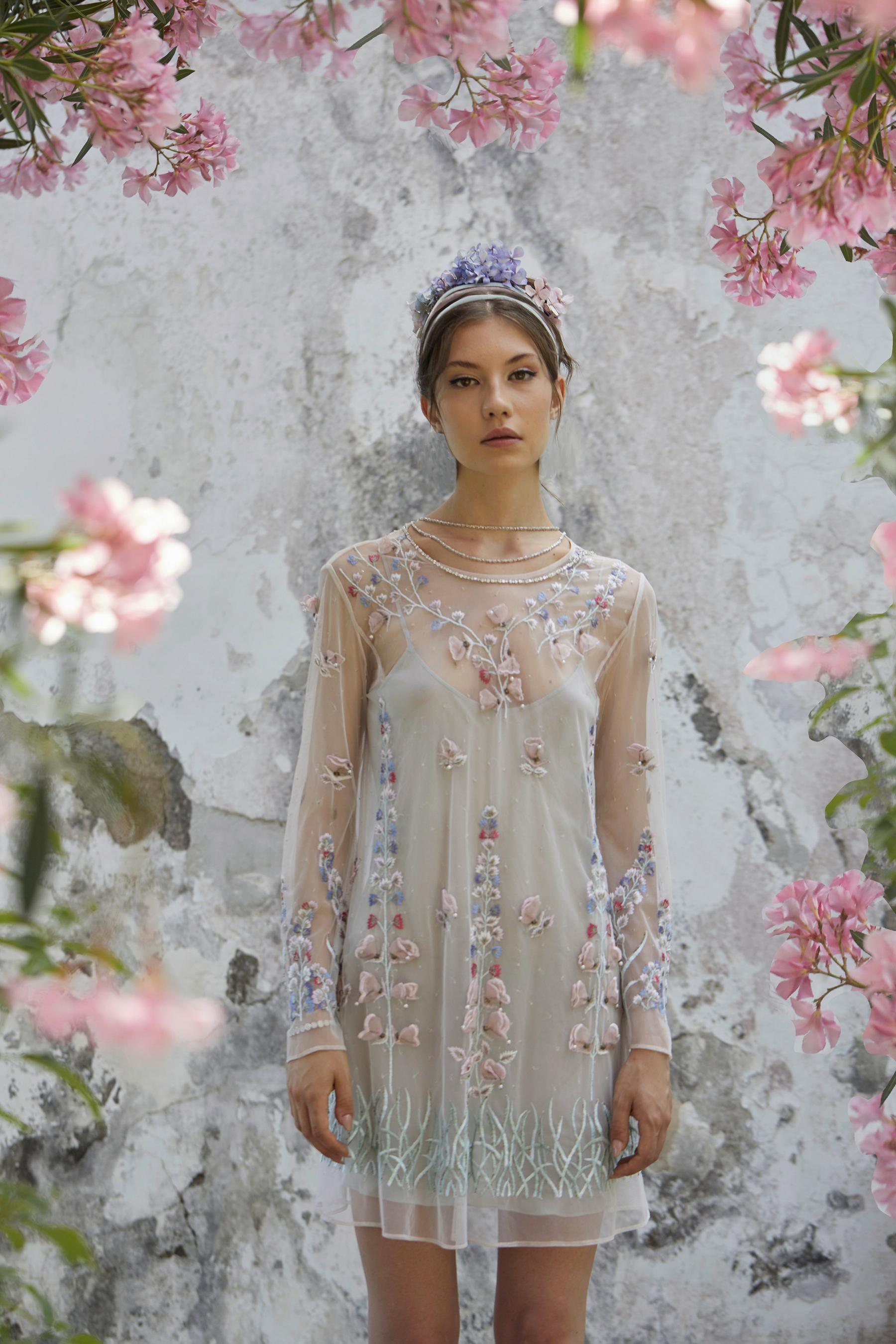 Luisa Beccaria Fall 2021 Couture  Fashion Show