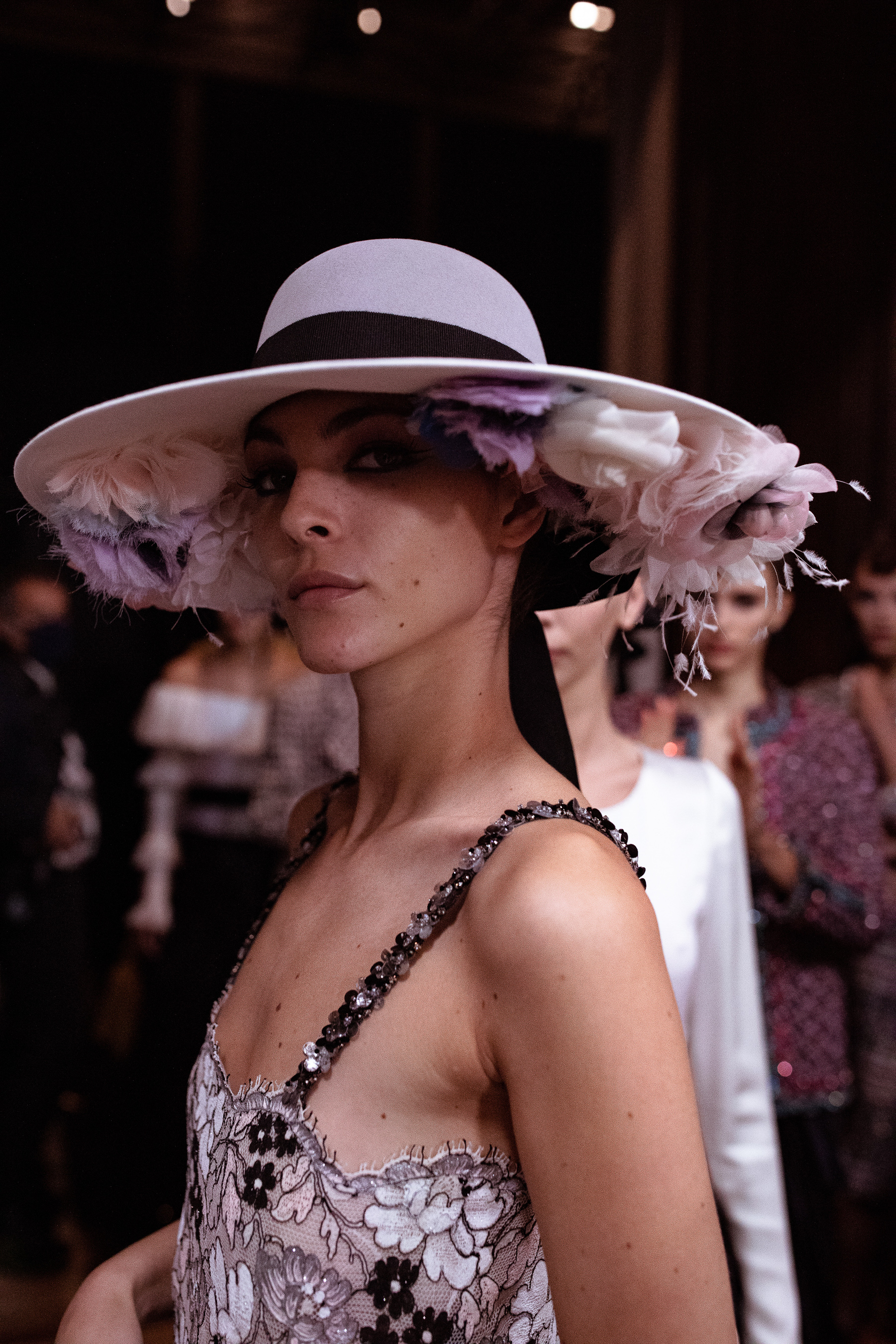 Chanel Fall 2021 Couture Backstage Fashion Show