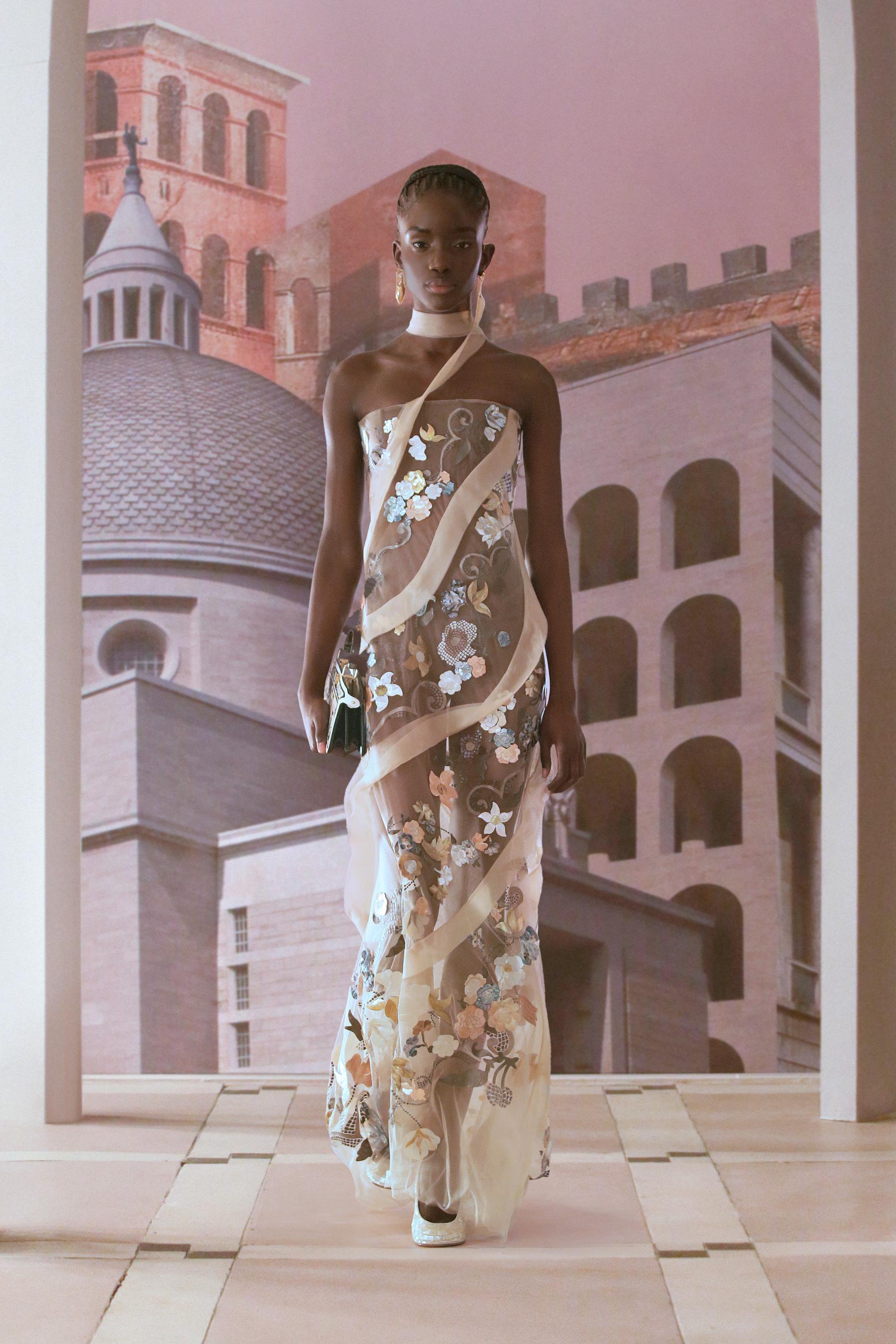 Fendi Couture Fall 2021 Couture  Fashion Show
