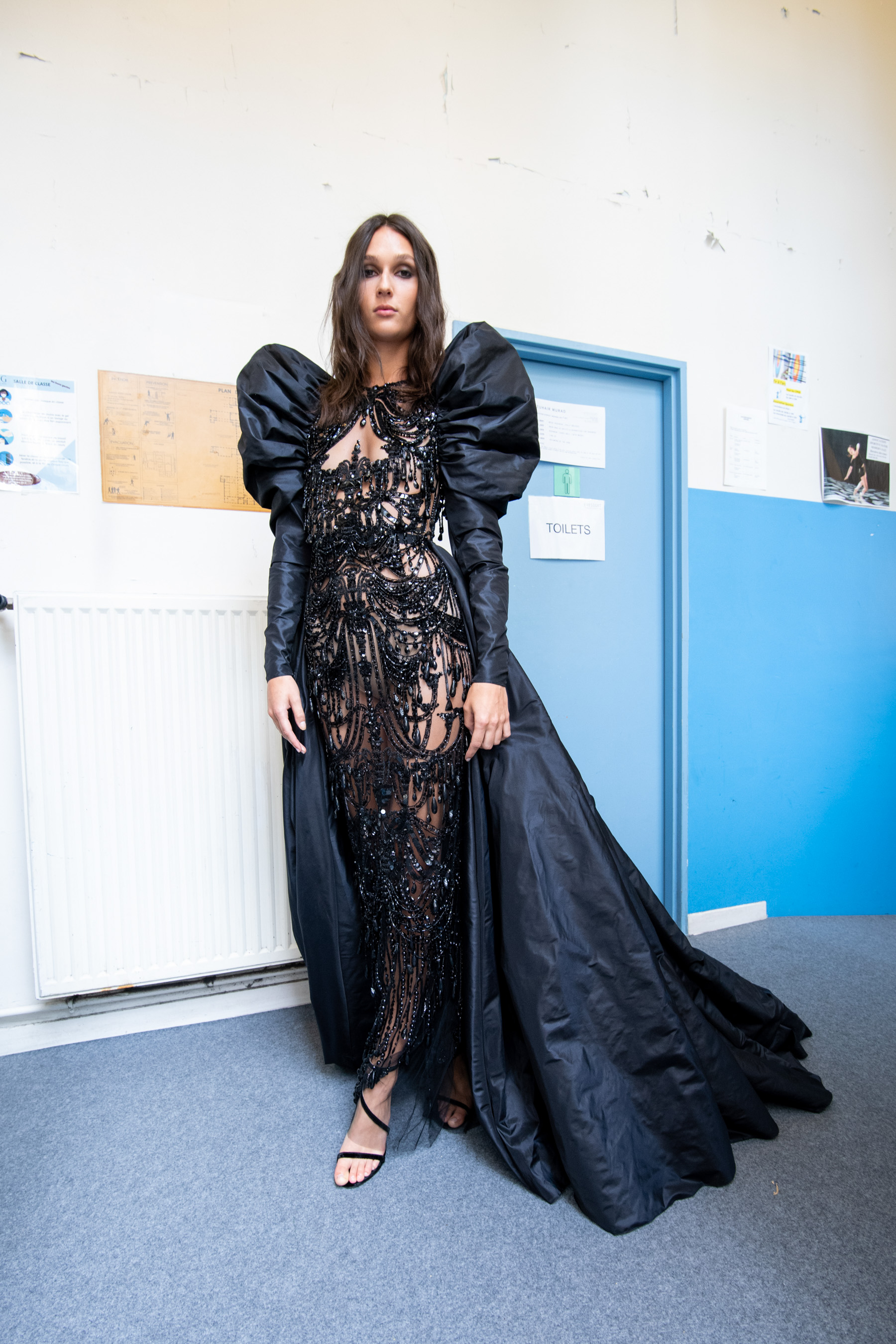 Zuhair Murad Fall 2021 Couture Backstage Fashion Show