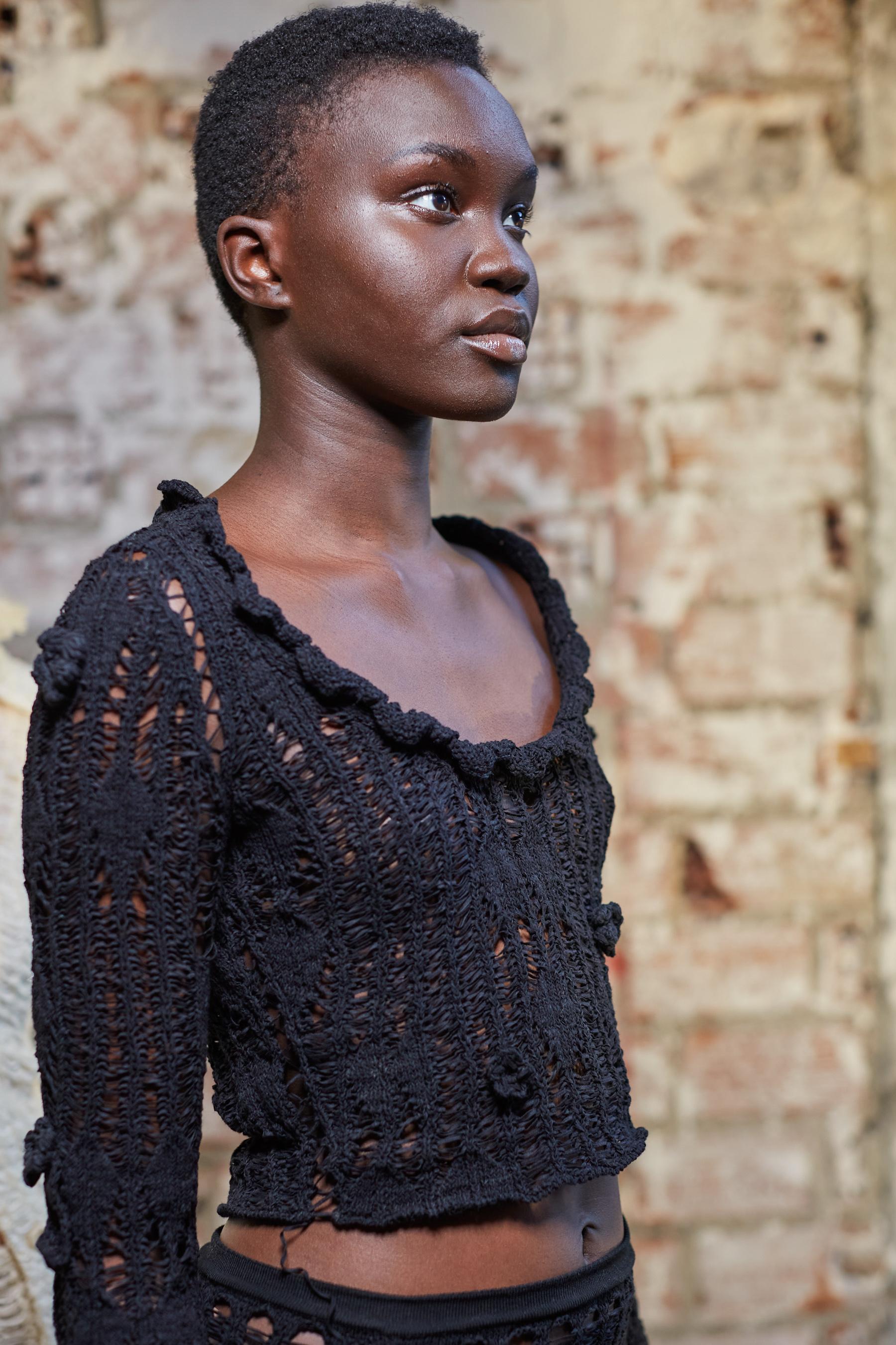 Acne Spring 2022 Backstage Fashion Show