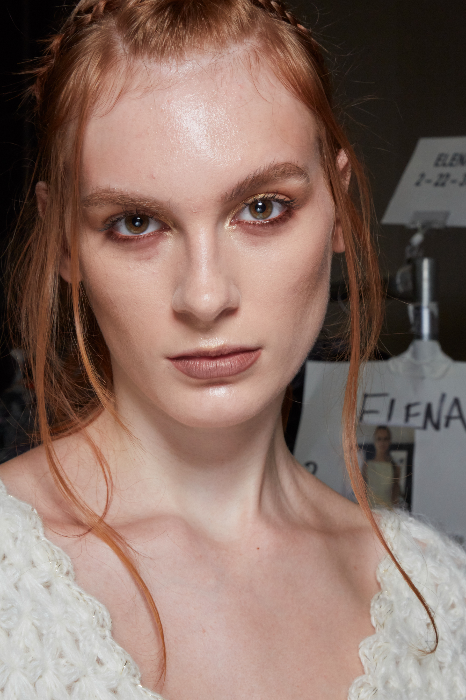 Frederick Anderson Spring 2022 Backstage Fashion Show