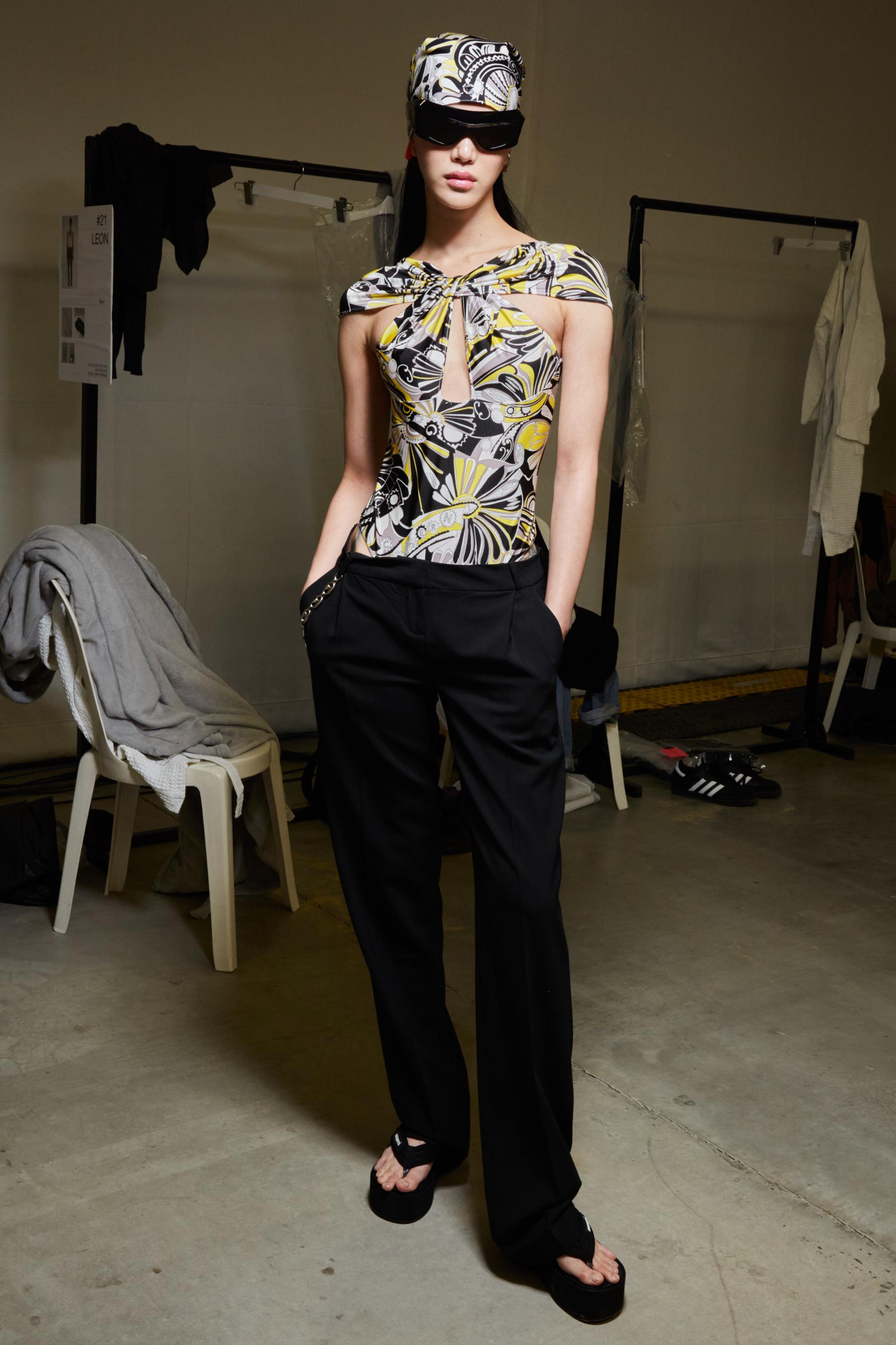 Coperni Spring 2022 Backstage Fashion Show