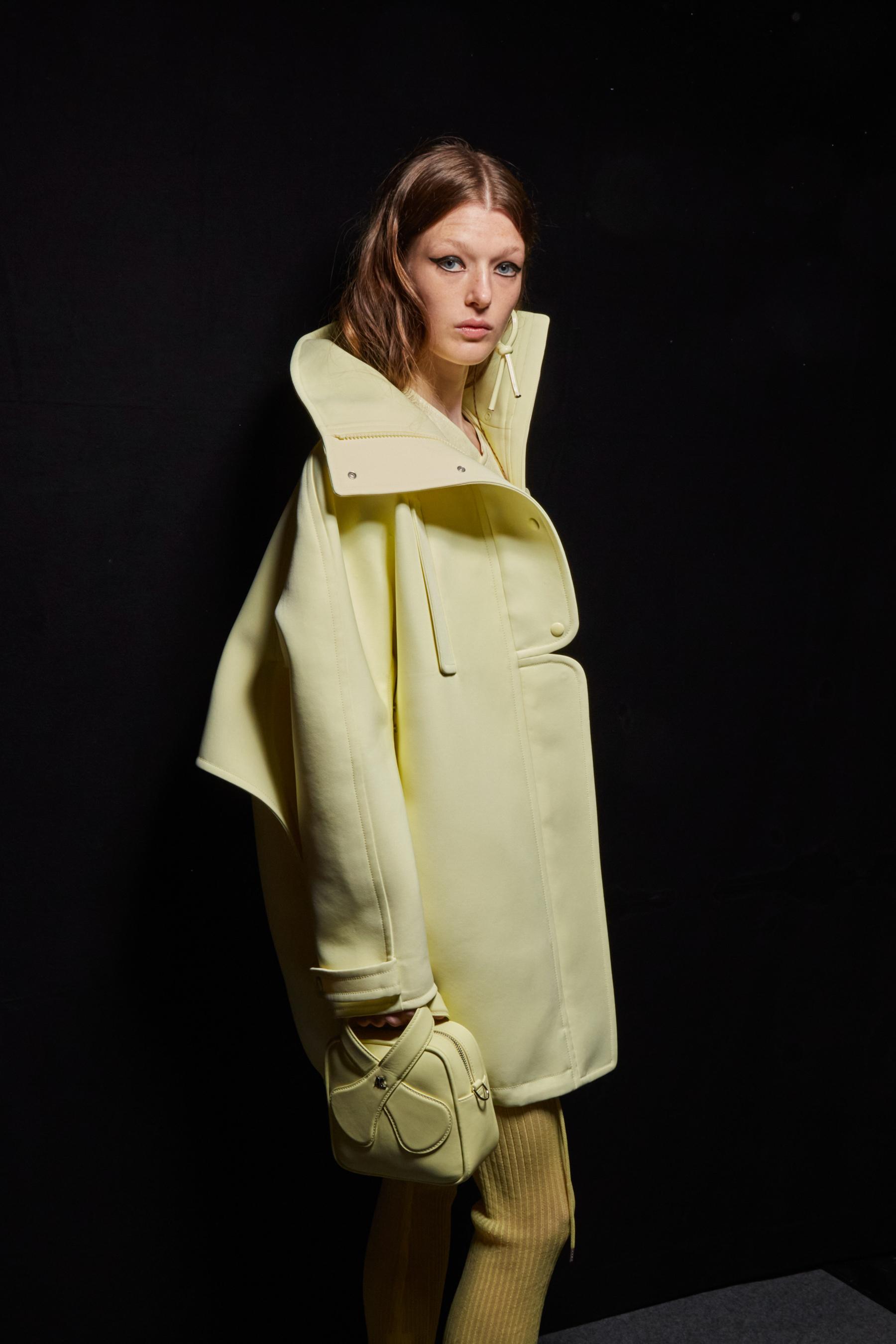 Courreges Spring 2022 Backstage Fashion Show