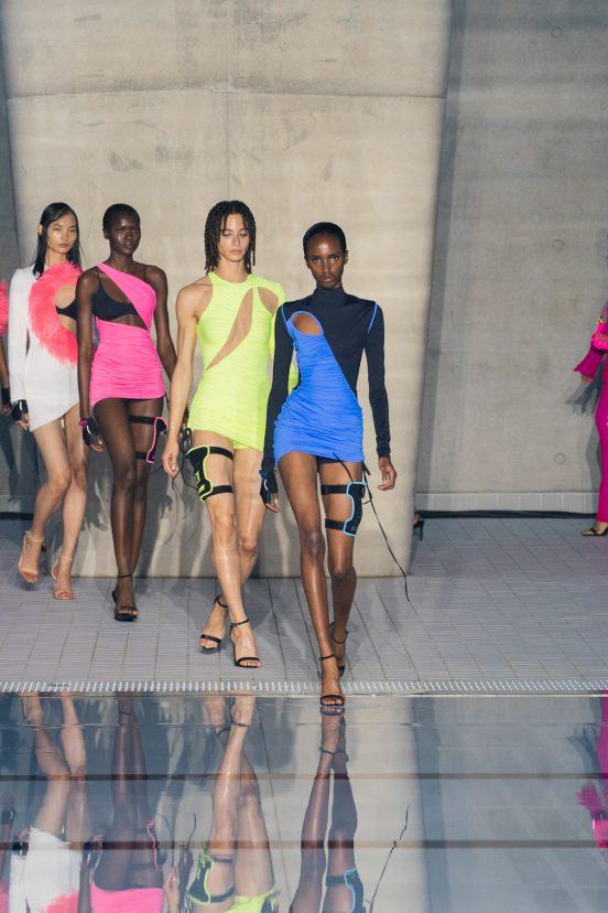 David Koma Spring 2022 Atmosphere Fashion Show