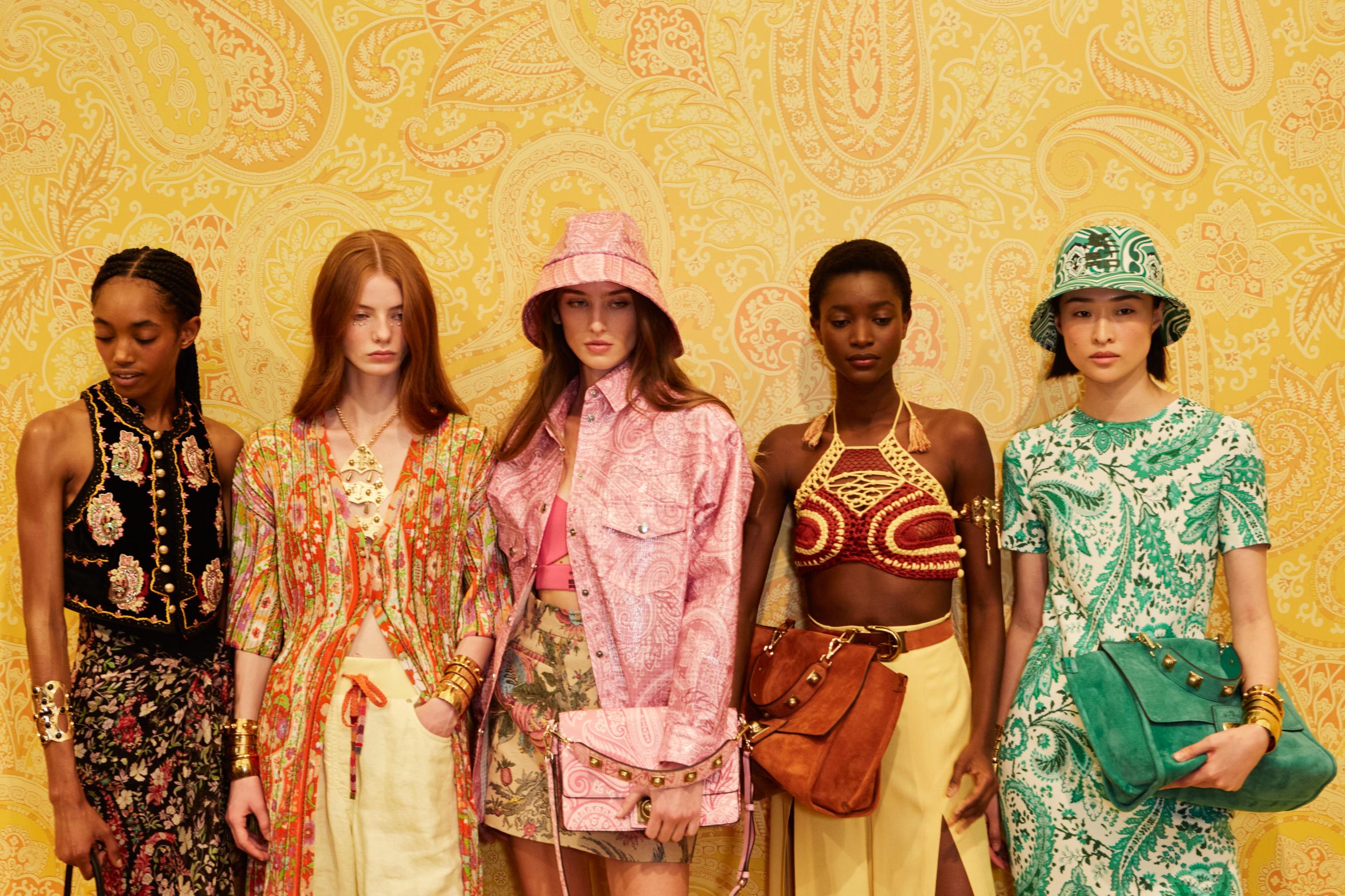 Etro Spring 2022 Backstage Fashion Show