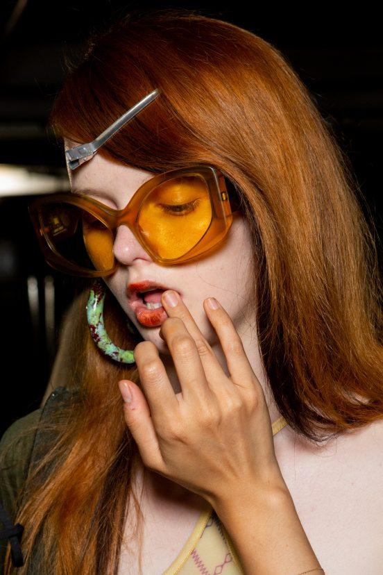 Knwls Spring 2022 Backstage Fashion Show