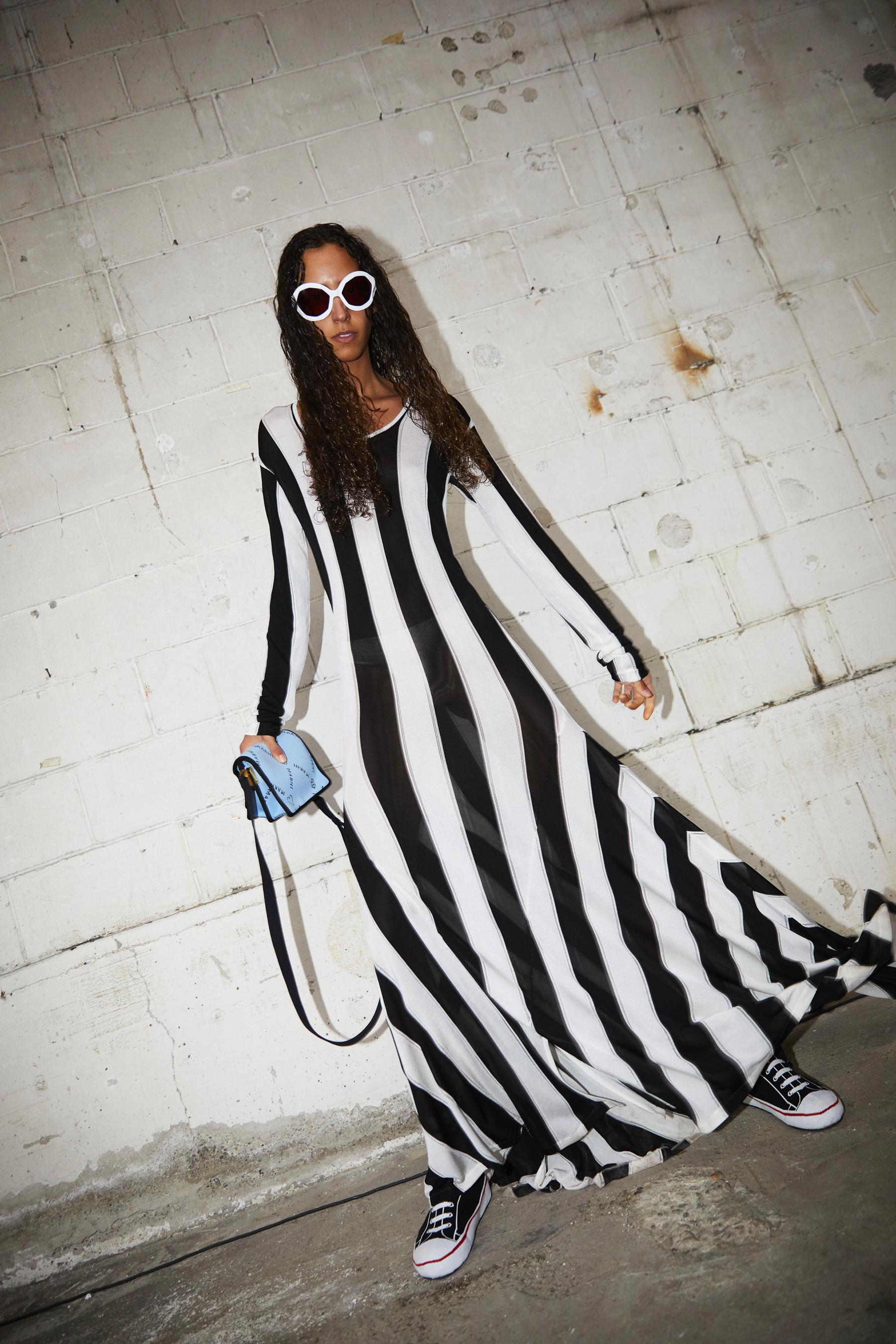 Marni Spring 2022 Backstage Fashion Show