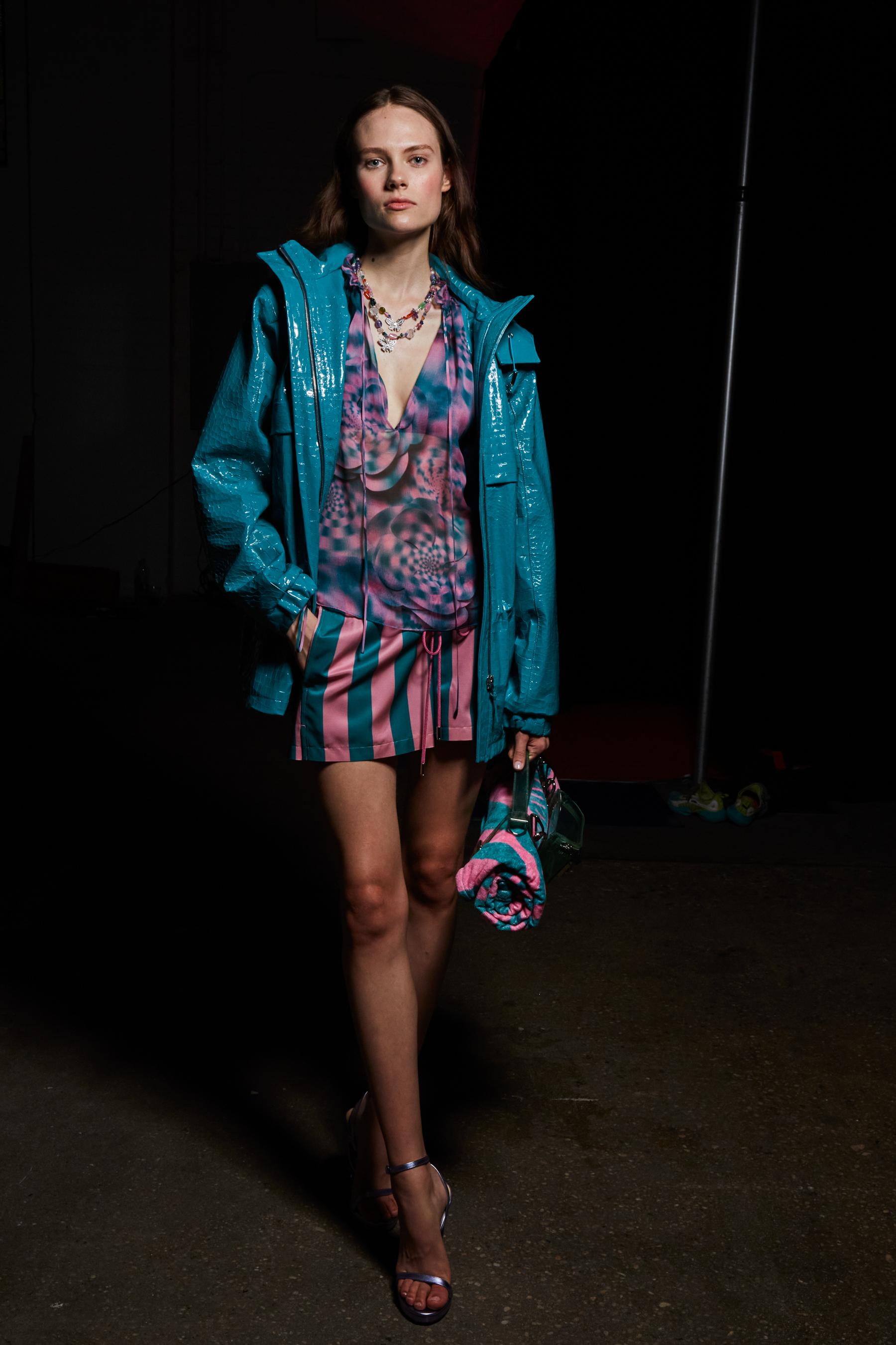 Brandon Maxwell Spring 2022 Backstage Fashion Show