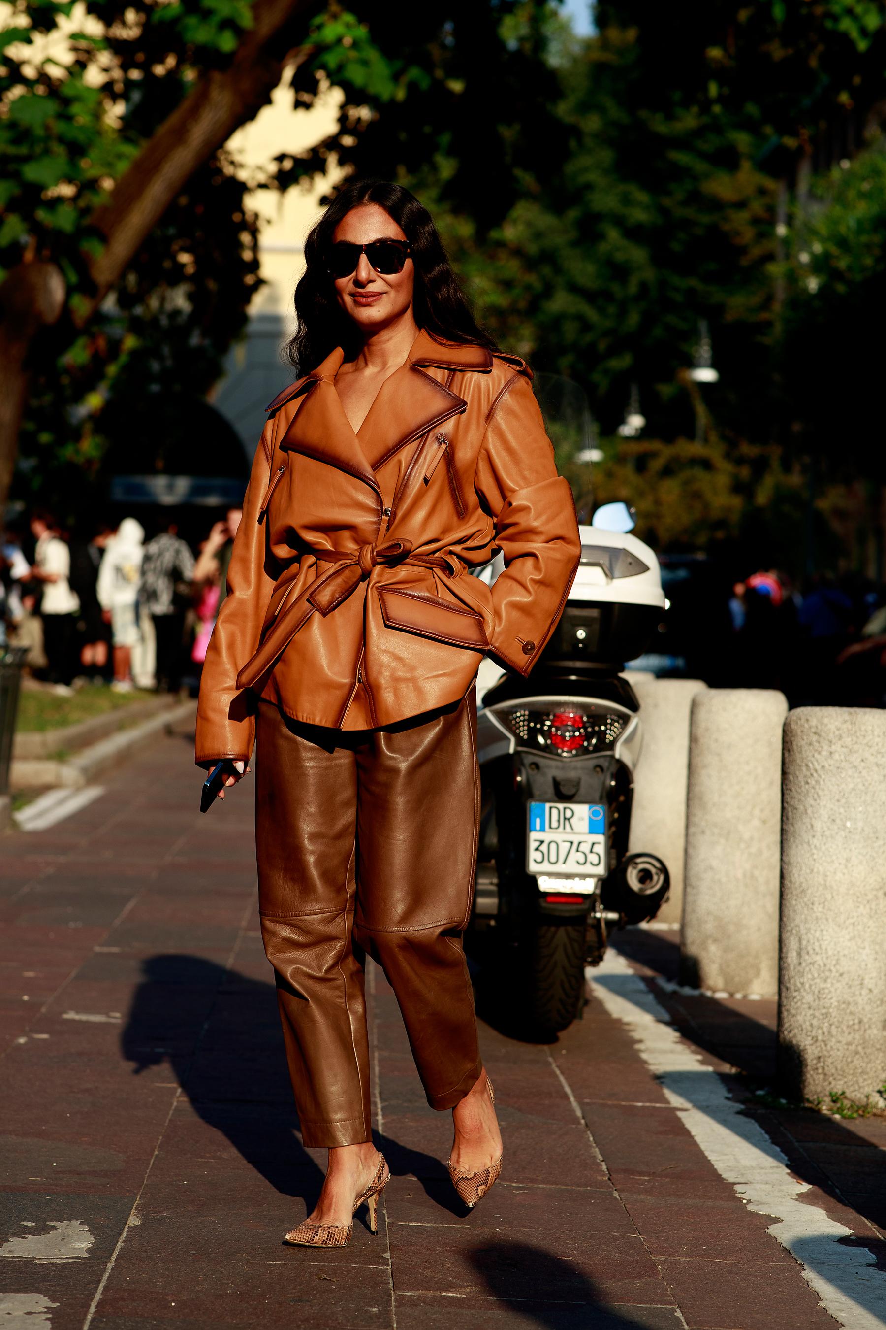 Milan Street Style Spring 2022 Day 1