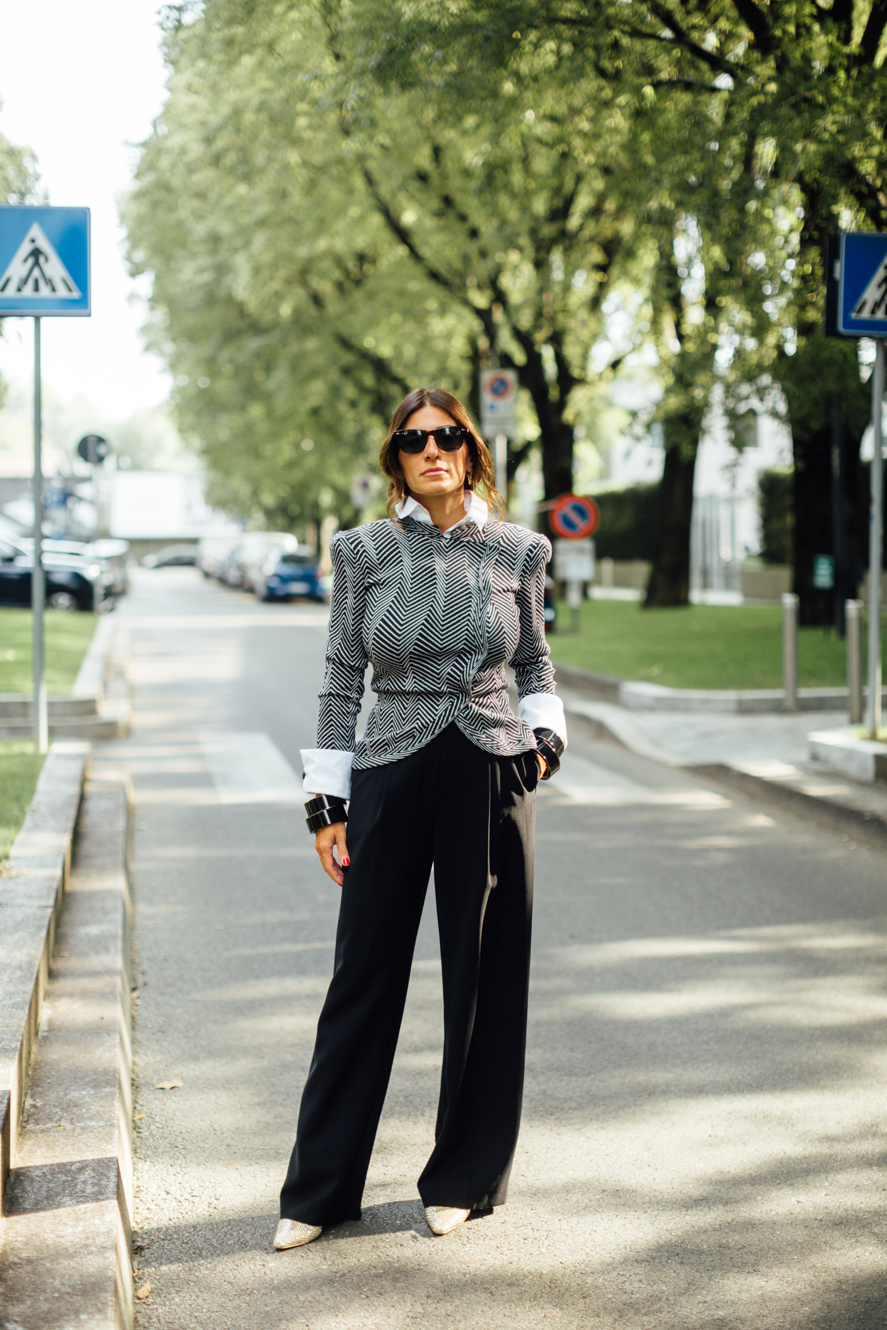 Milan Street Style Spring 2022 Day 2