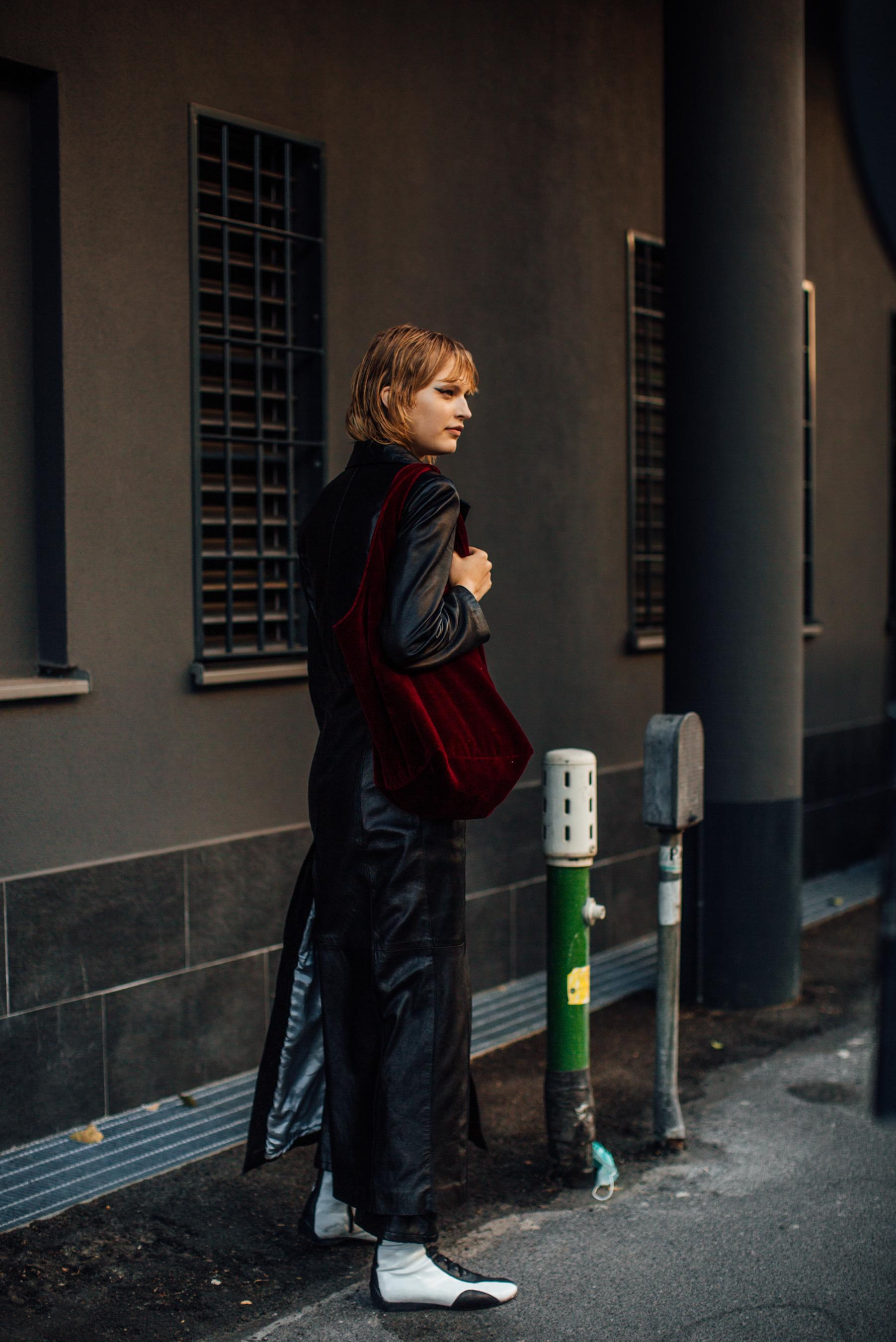 Milan Street Style Spring 2022 Day 3