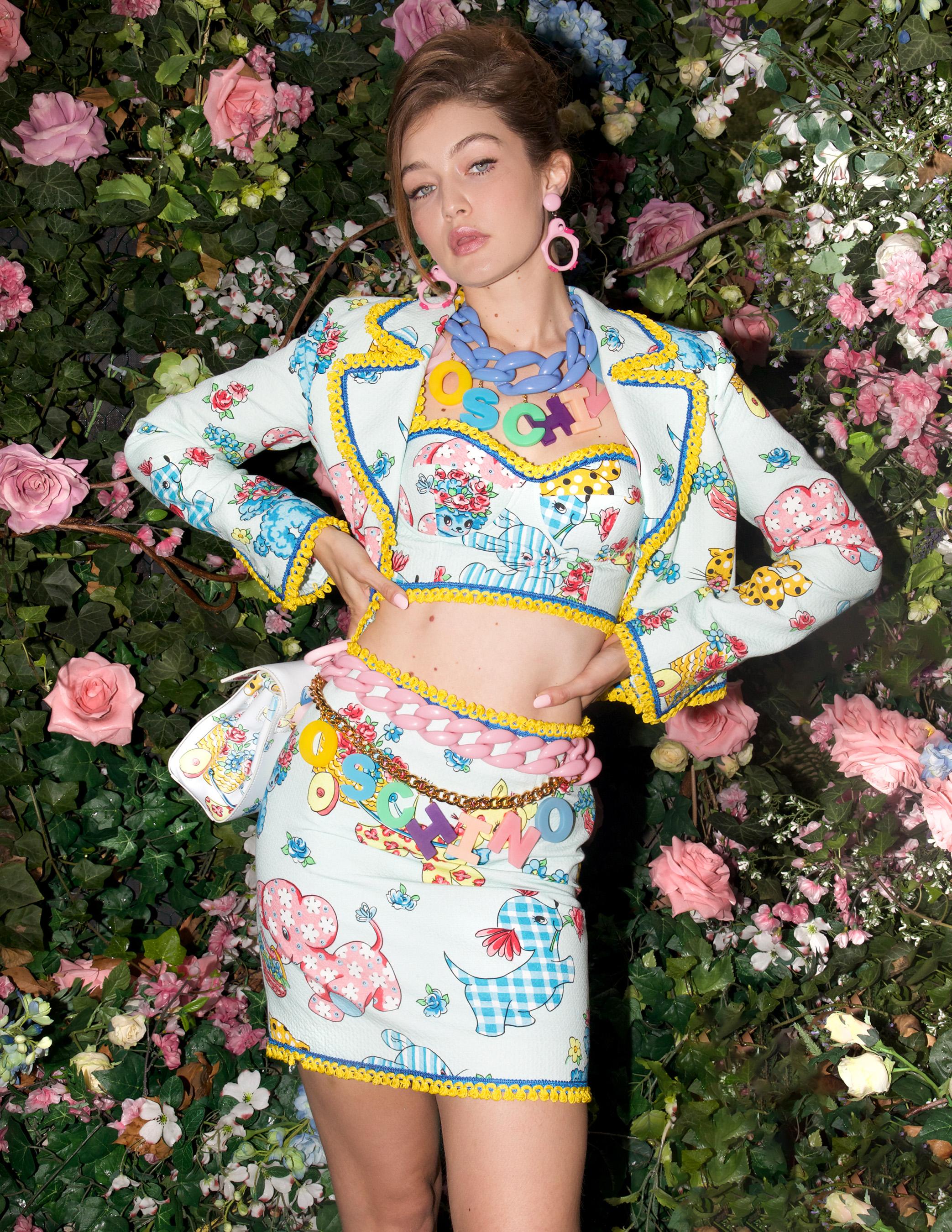 Moschino Spring 2022 Backstage Fashion Show