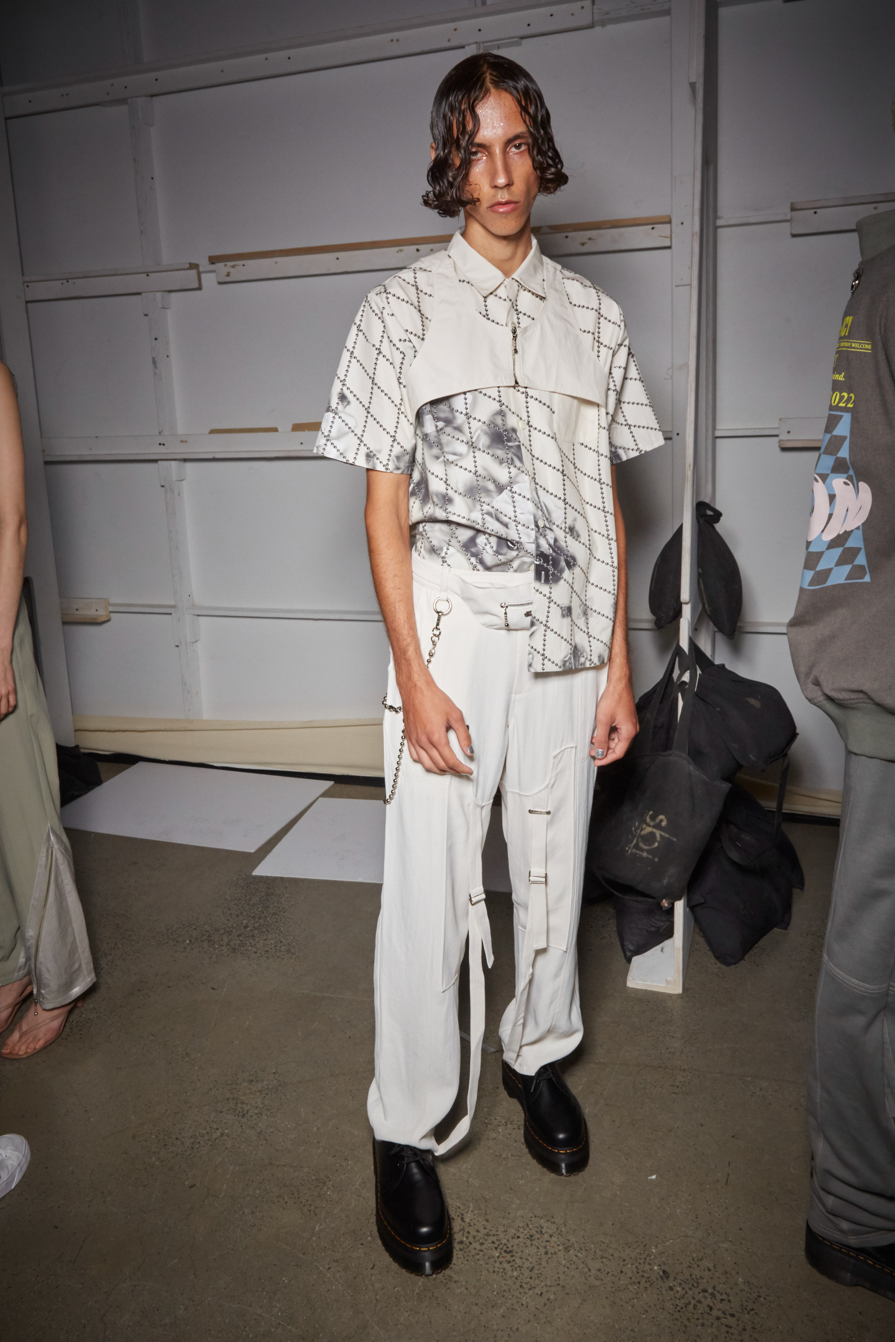 Private Policy Spring 2022 Backstage Fashion Show
