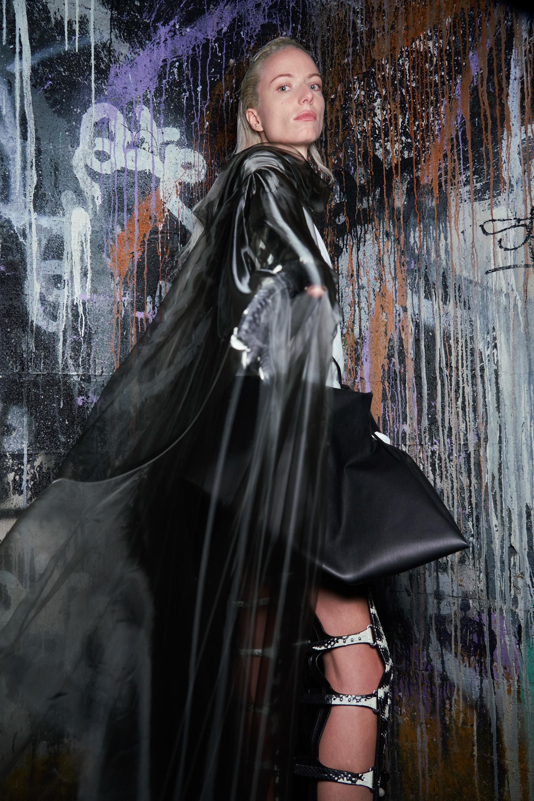 Rick Owens Spring 2022 Backstage Fashion Show