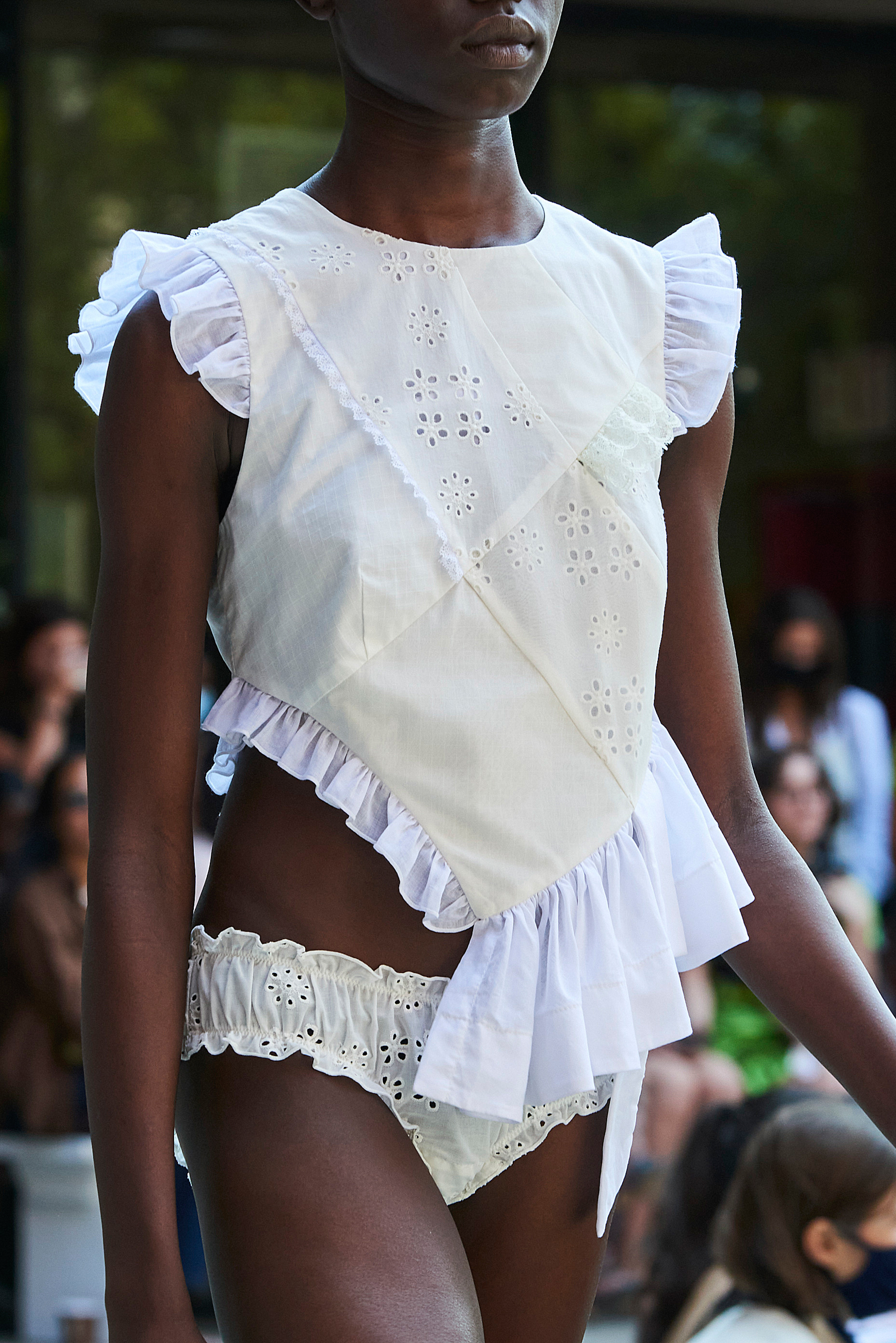 Sandy Liang Spring 2022 Details Fashion Show