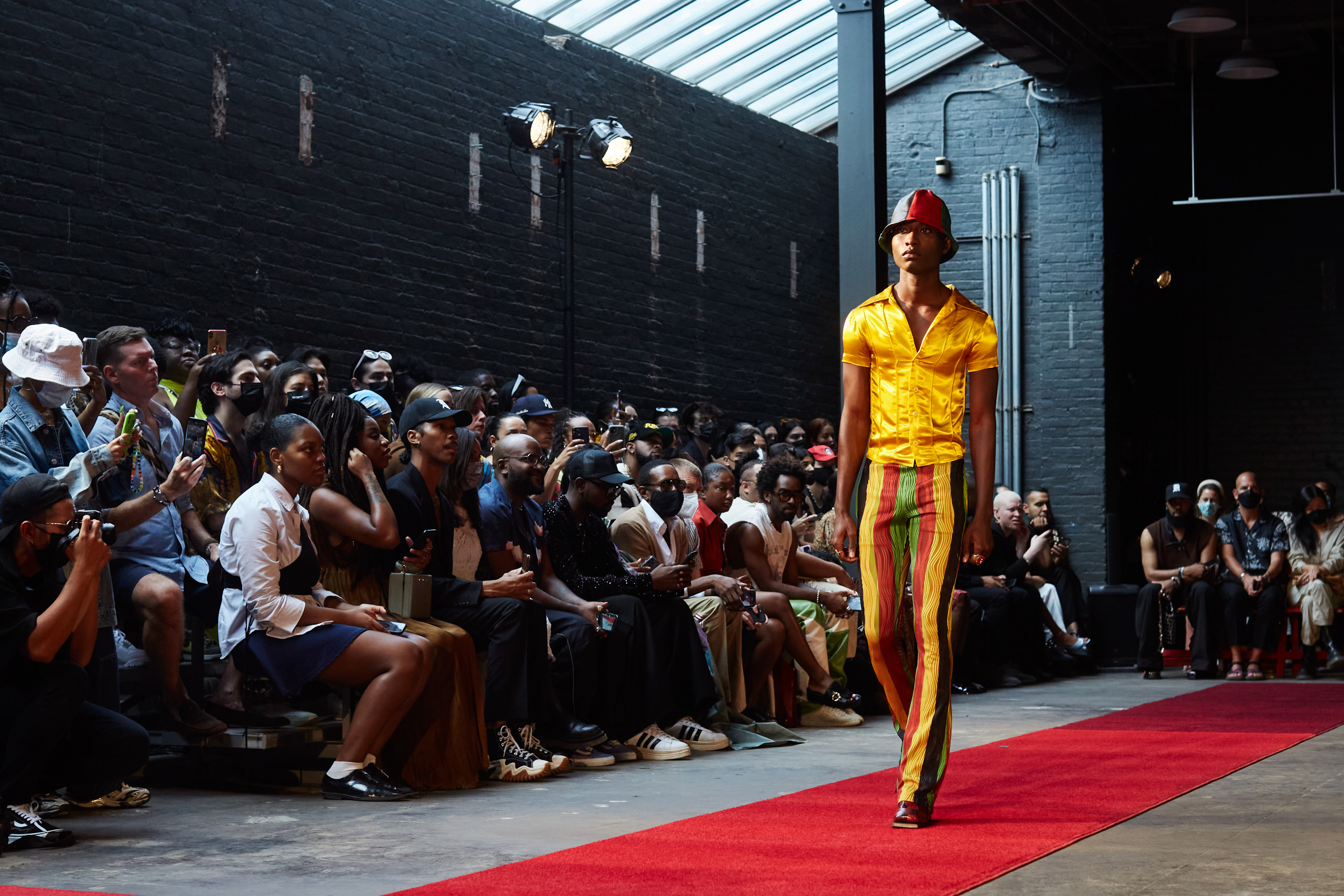 Theophilio Spring 2022 Atmosphere Fashion Show