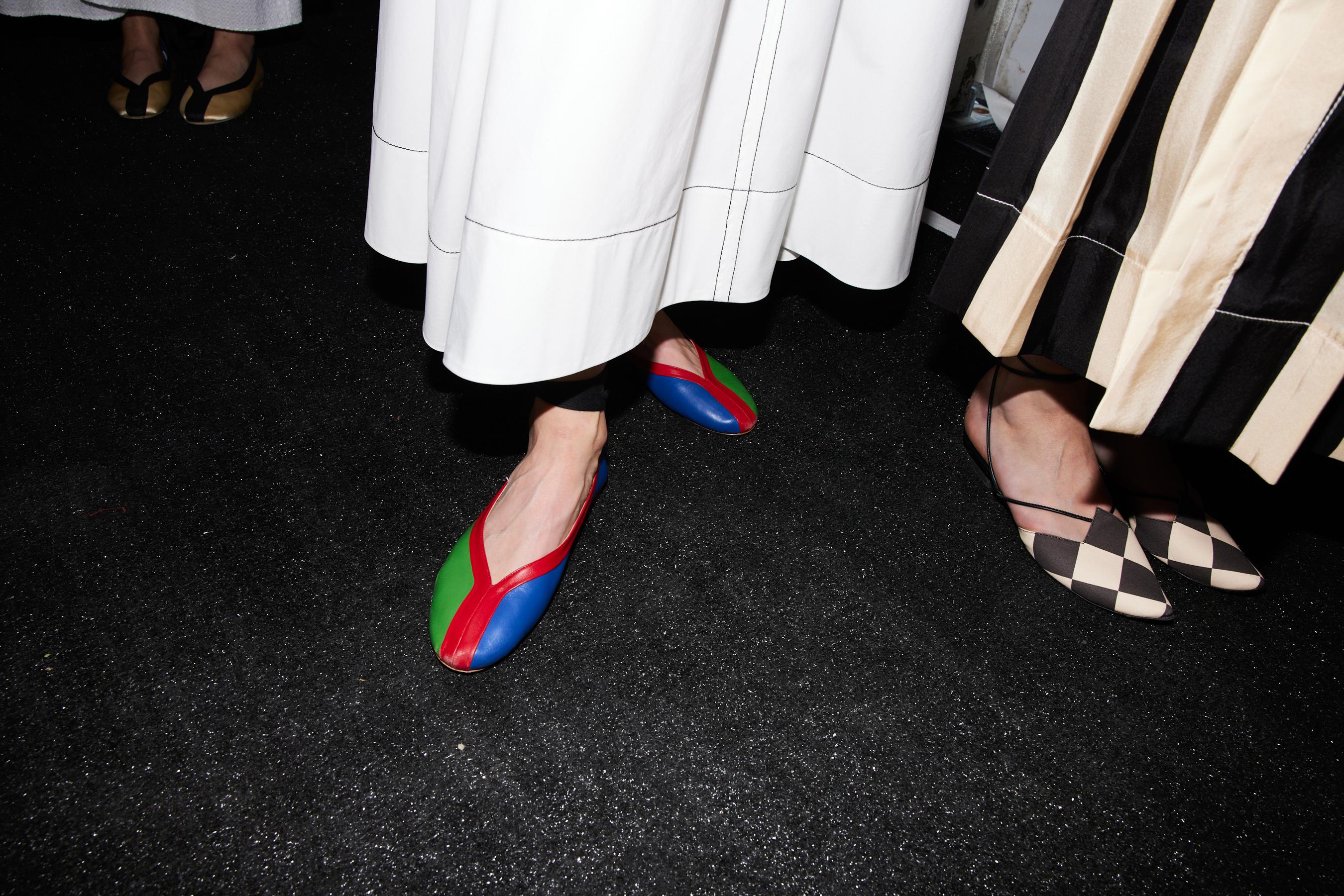 Tory Burch Spring 2022 Backstage Fashion Show