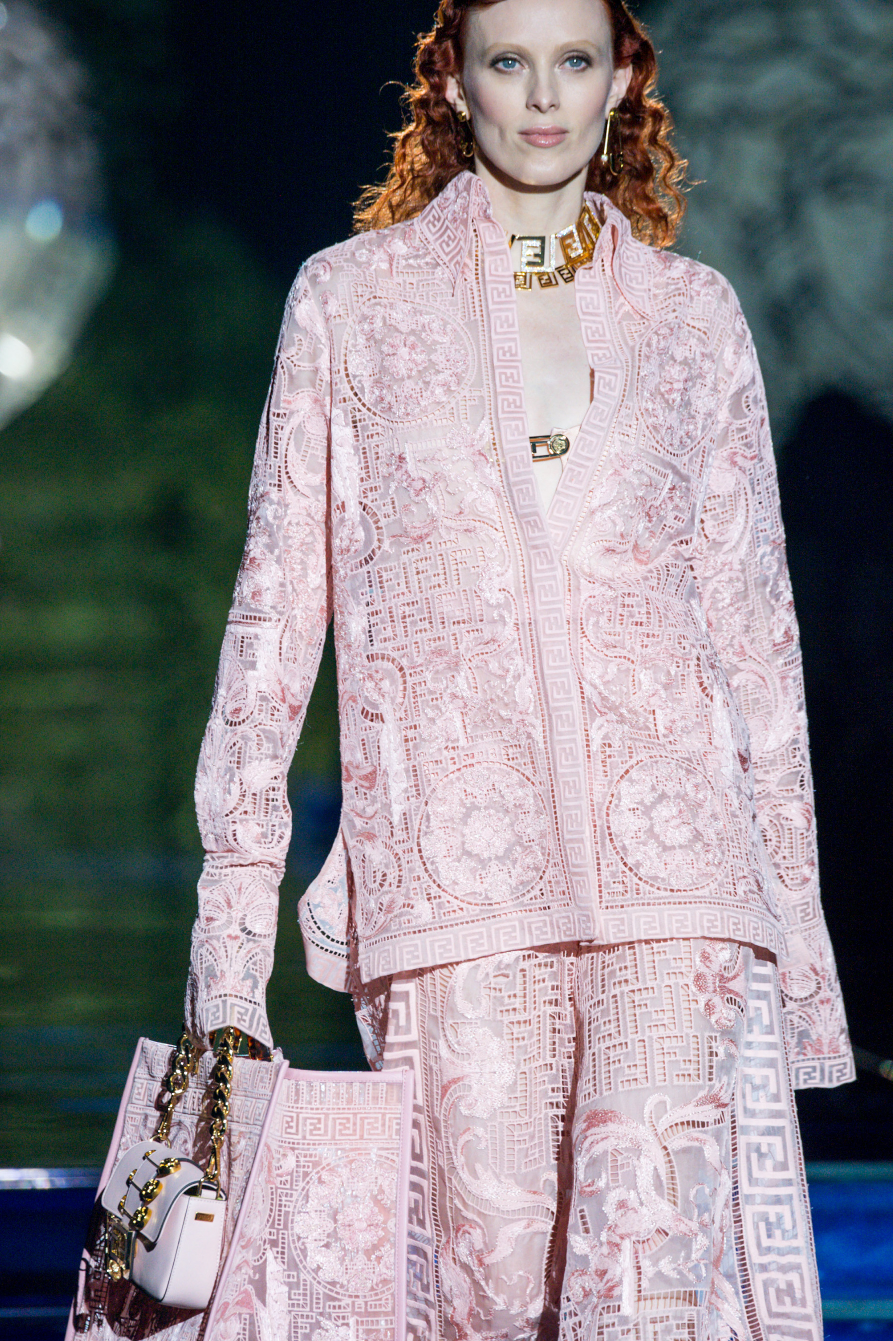 Versace By Fendi Spring 2022 Details Fashion Show