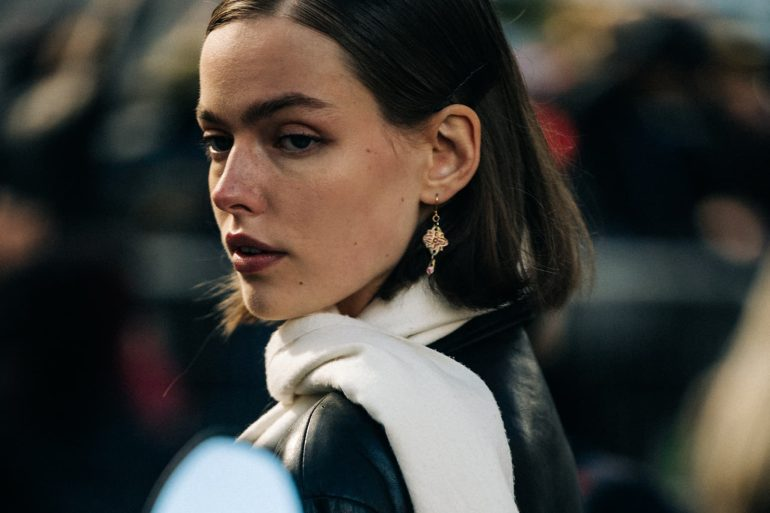 Paris Street Style SPRING 2022 fashion show