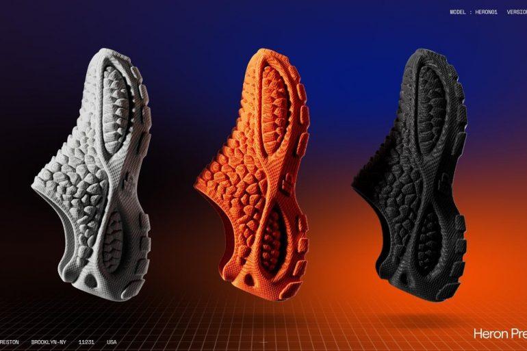 Heron Preston Debuts First Fully 3D Printed Sneaker in Collaboration Zellerfeld