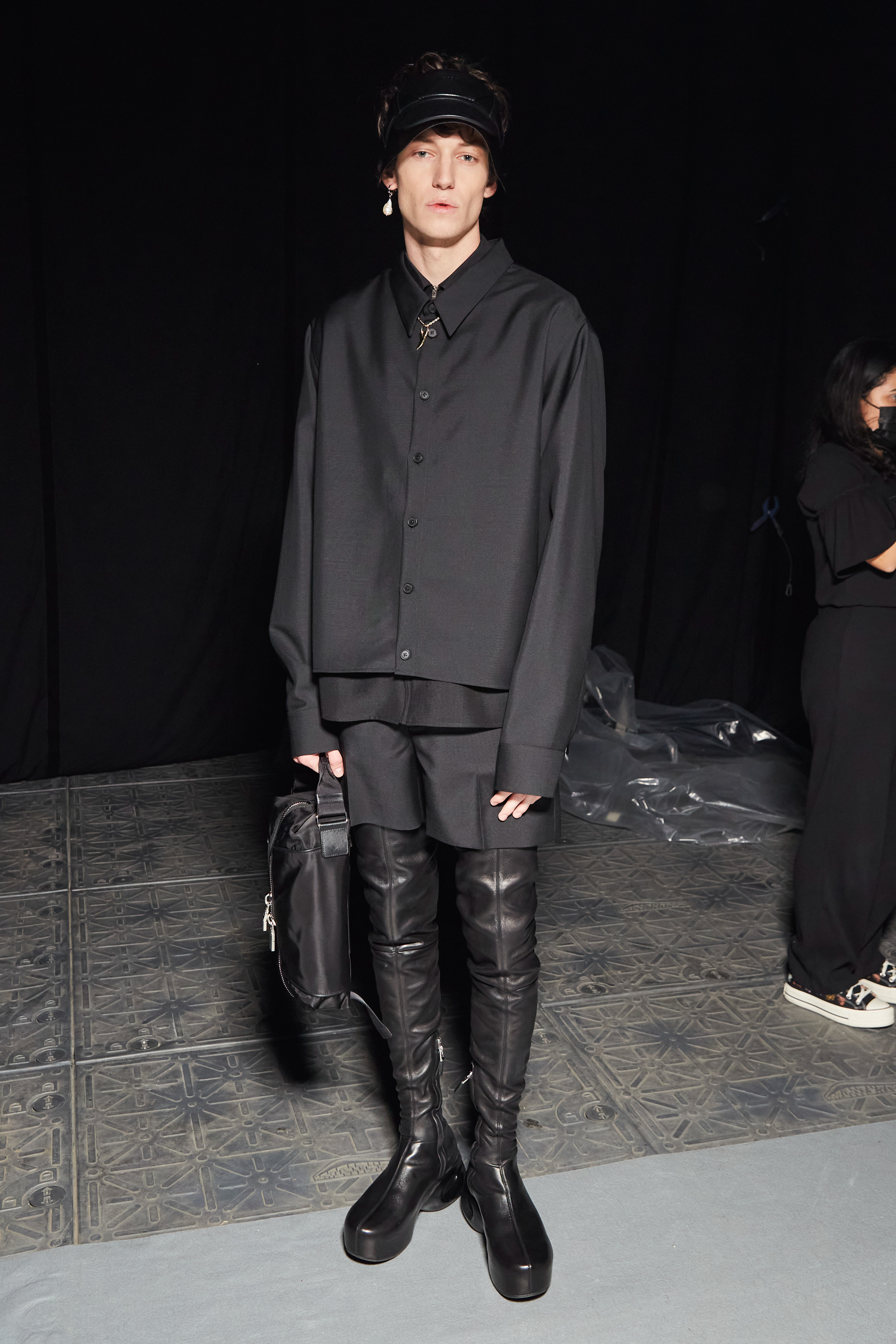 Givenchy Spring 2022 Backstage Fashion Show