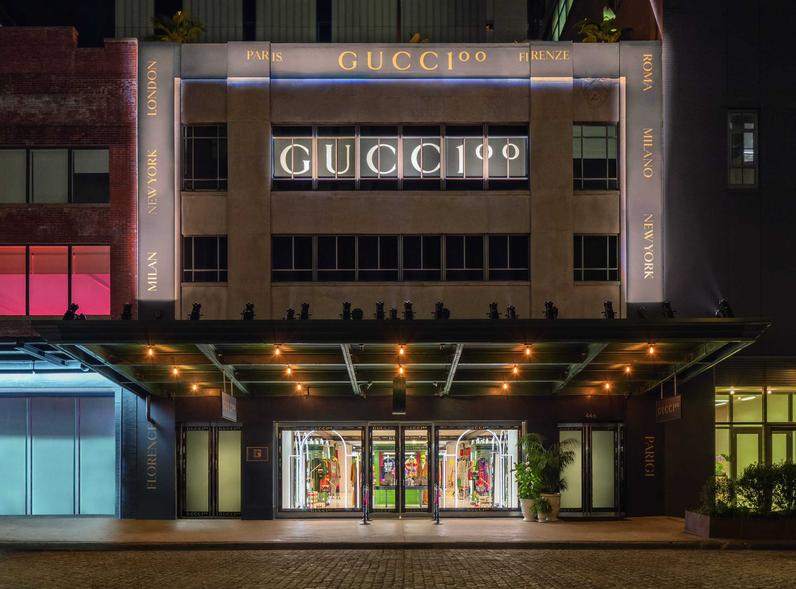 Gucci Launches Series of Global Pop-Up dedicated to the Gucci 100