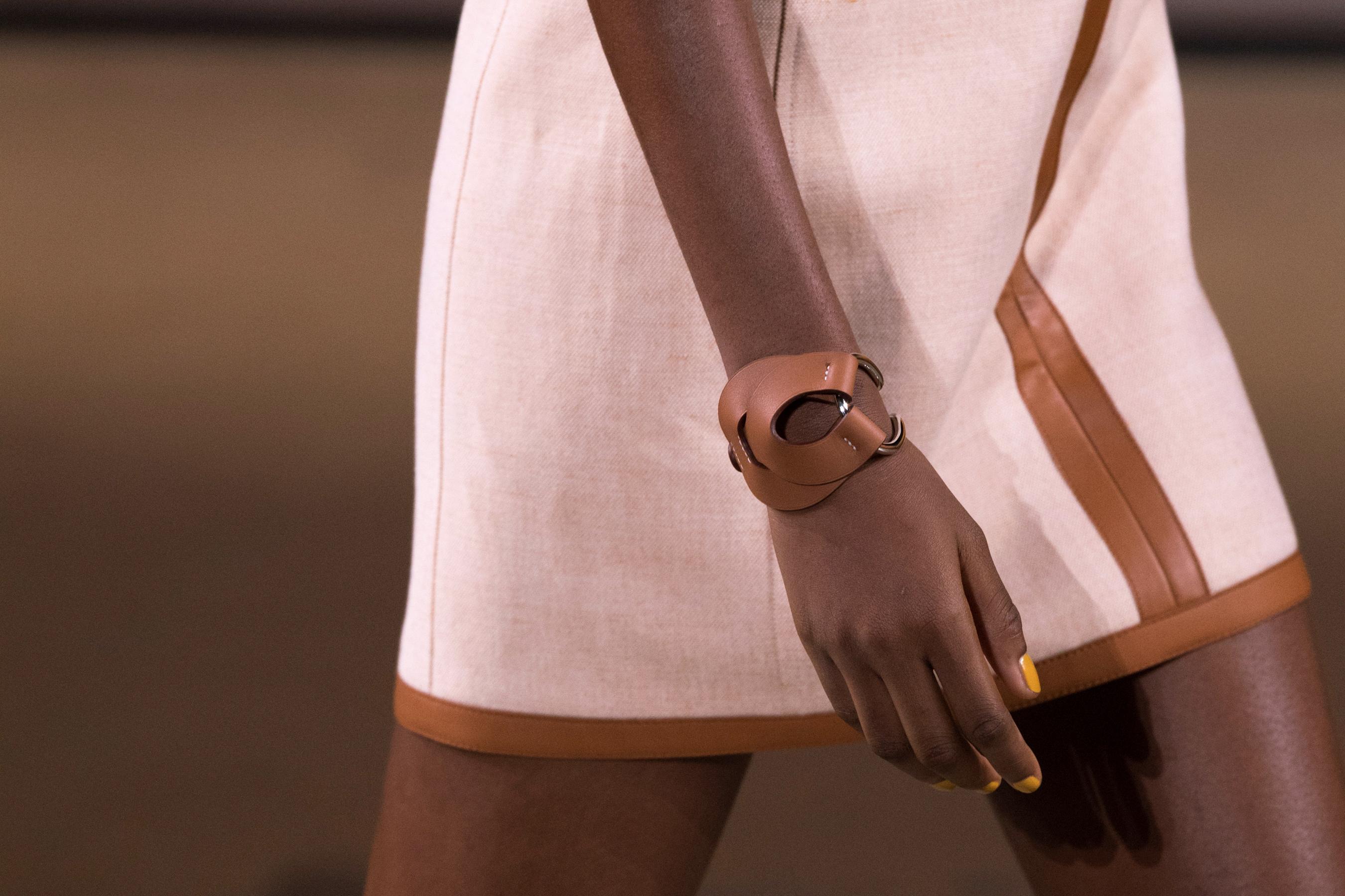 Hermes Spring 2022 Details Fashion Show