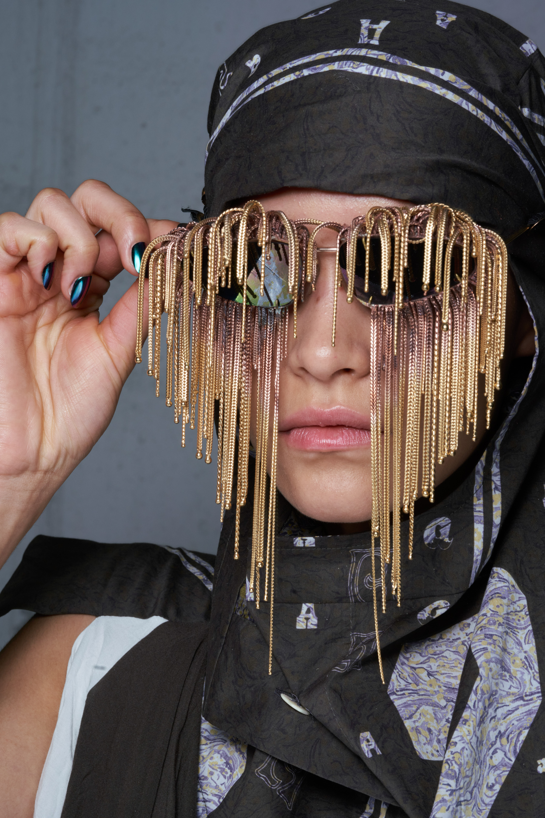 Andreas Kronthaler For Vivienne Westwood Spring 2022 Backstage Fashion Show