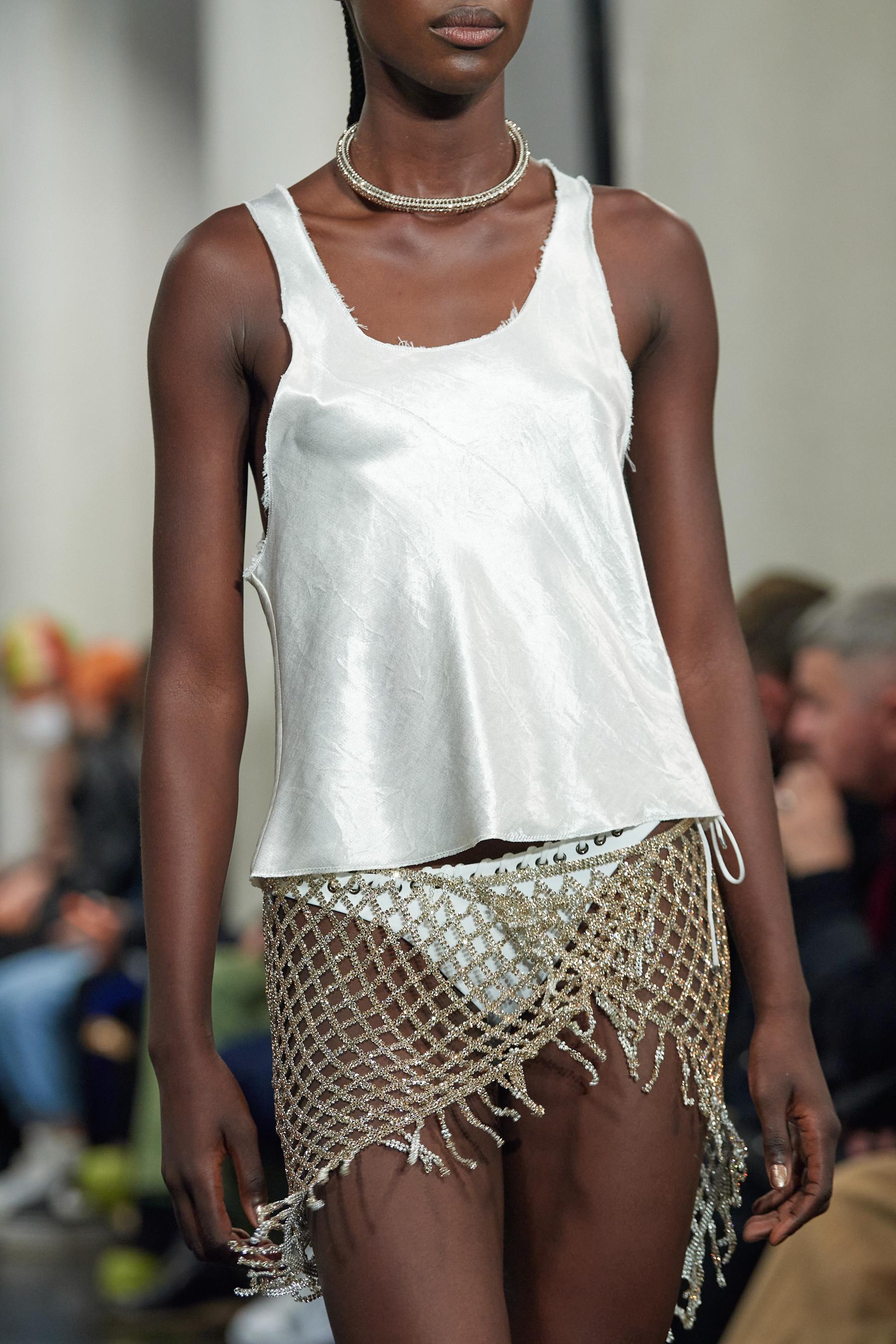 Ludovic De Saint Sernin Spring 2022 Details Fashion Show