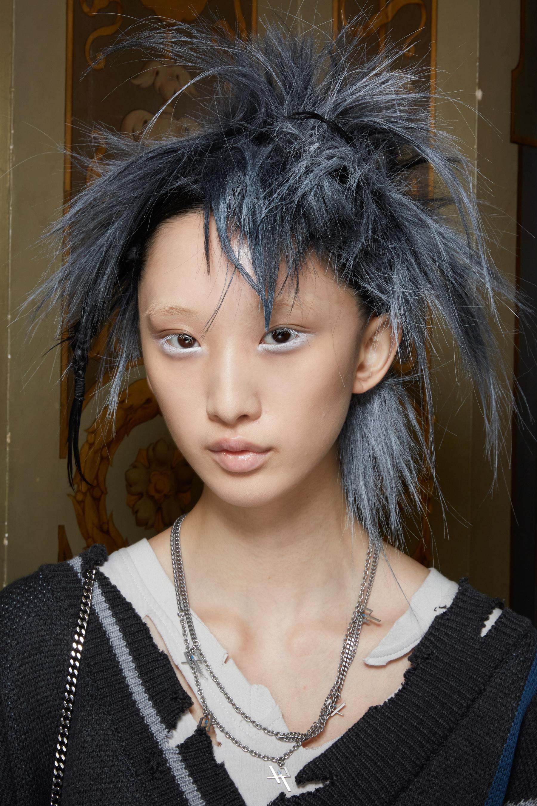 Yohji Yamamoto Spring 2022 Backstage Fashion Show