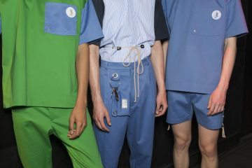 22/4 Hommes Spring 2018 Men's Fashion Show Backstage