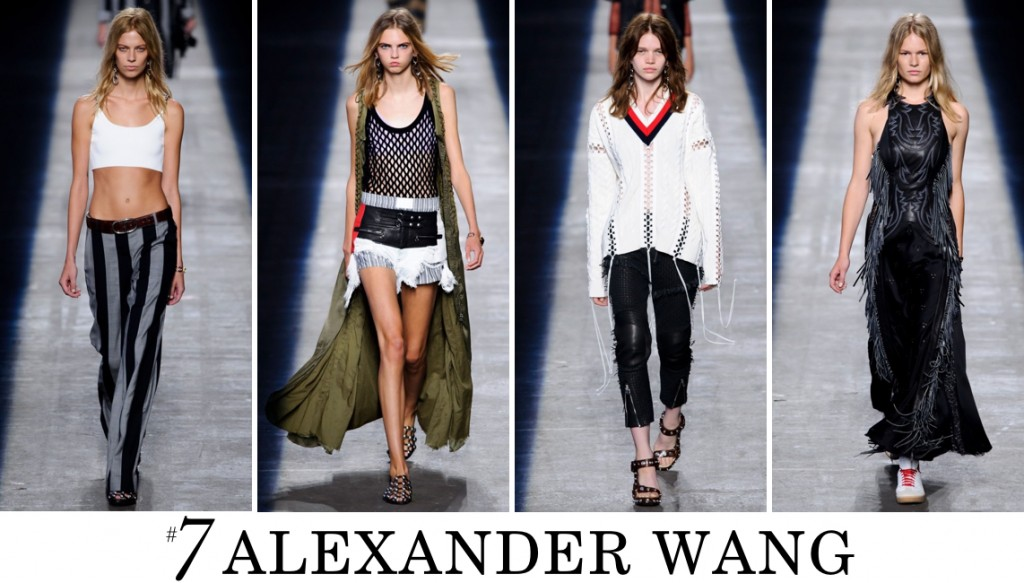 Alexander Wang Top 10 spring 2016 fashion show photo