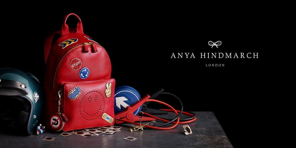 Anya Hindmarch fall 2015 ad campaign photo