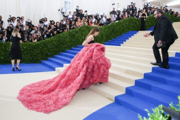 The Met Gala 2017 Red Carpet Rei Kawakubo/Comme des Garçons