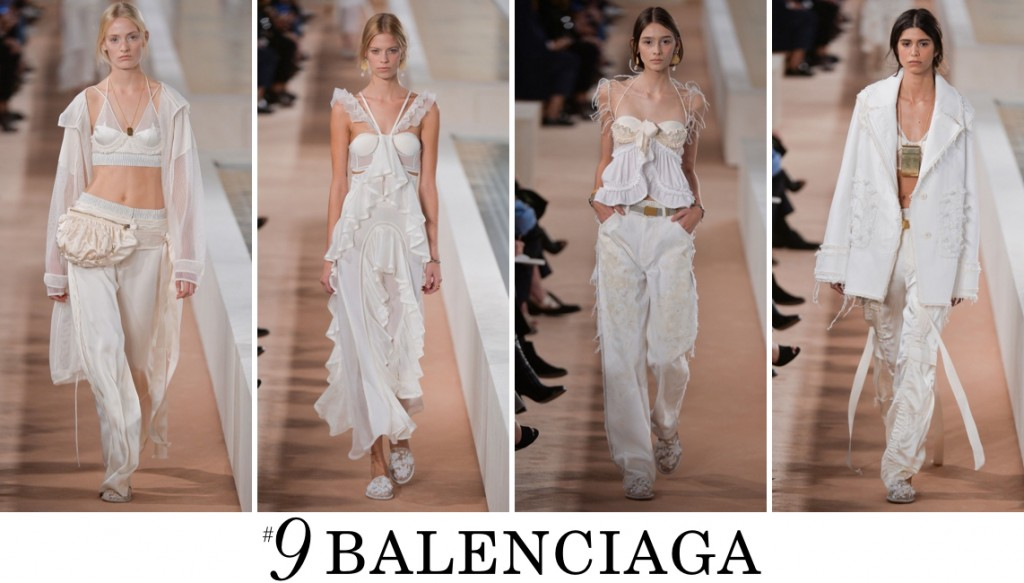 Balenciaga  Spring 2016 Fashion Show Top 10 Photo