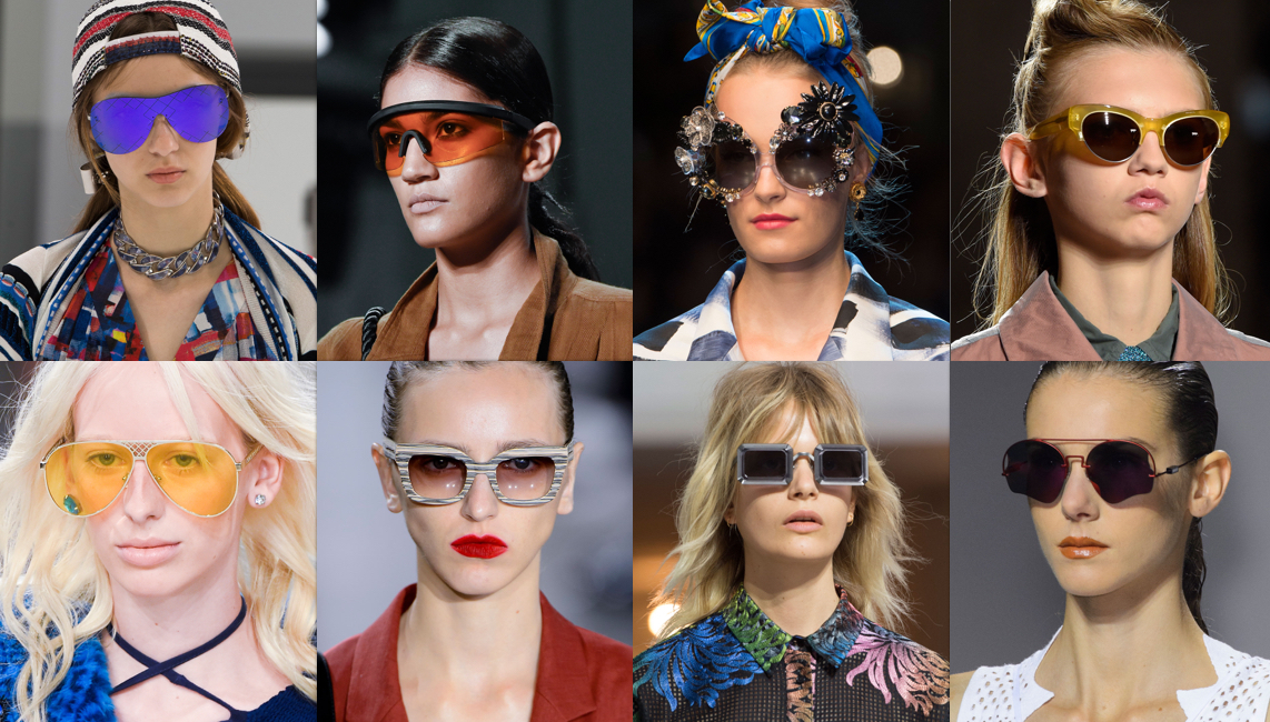 Best Sunglasses 2016  the best of eyewear of spring 2016 fashion shows