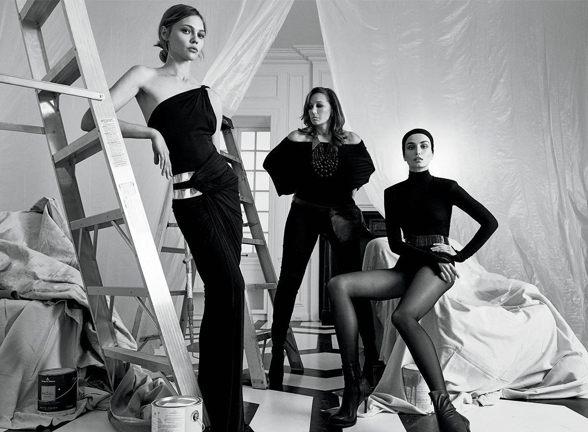 THE CONSERVATORY DONNA KARAN | Donna Karan w/ Sasha Pivovarova & Andreea Diaconu