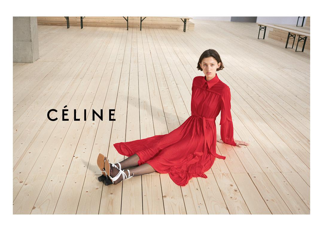 2017 Ad 100 Best Interior Designers Victoria Hagan: Céline Spring 2017 Ad Campaign