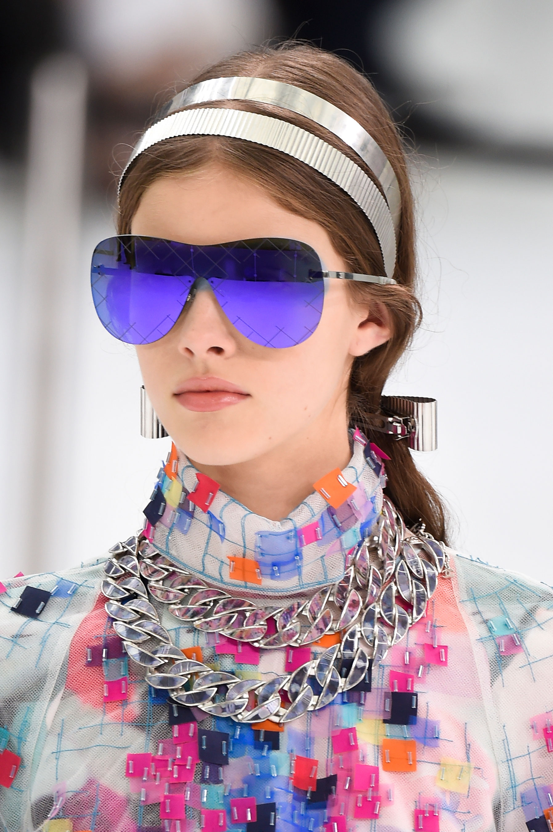Fashion Sunglasses 2016  chanel spring 2016 eyewear fashion show the impression 19
