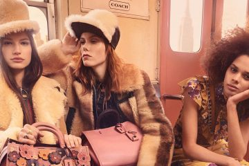 Baron & Baron Rides the Rails for Coach's Fall 2017 Campaign
