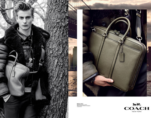 coach mens fall 2015 ad campaign photo