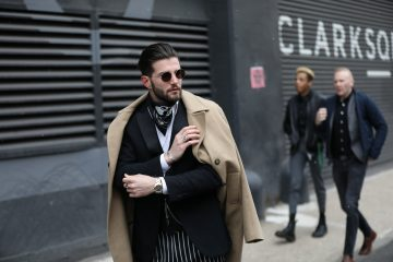 New York Week Fashion Week Men's Street Style Day 2 Fall 2017 - Part 2