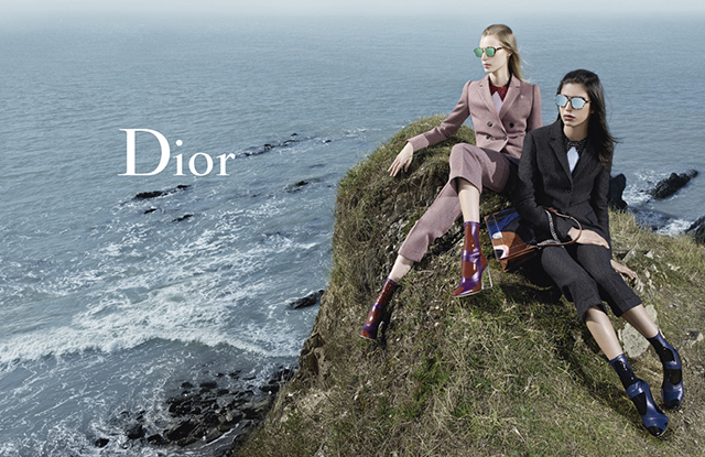 Dior Fall 2015 ad campaign photo