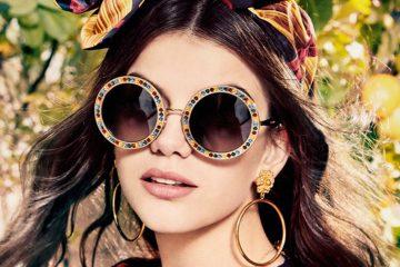 Dolce & Gabbana's Eyewear Spring 2017 Ad Campaign