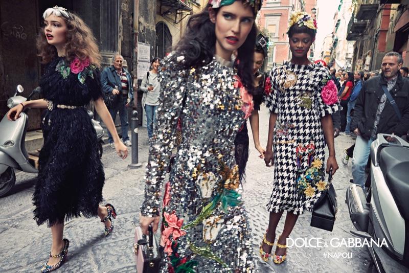 59da6a17 Fall Ad Campaigns | Dolce & Gabbana, Moschino, Giorgio Armani, & Ermanno  Scervino - The Impression