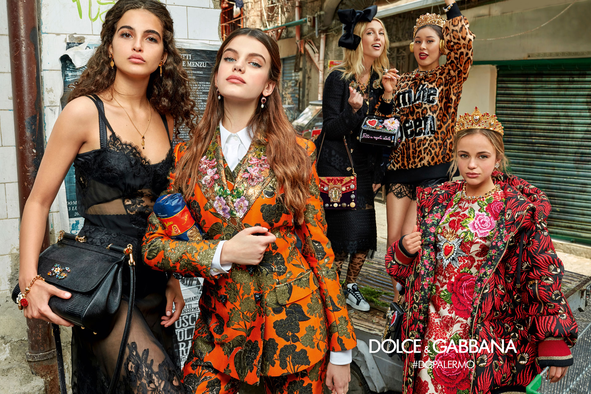 Dolce & Gabbana Fall 2017 Ad Campaign - The Impression